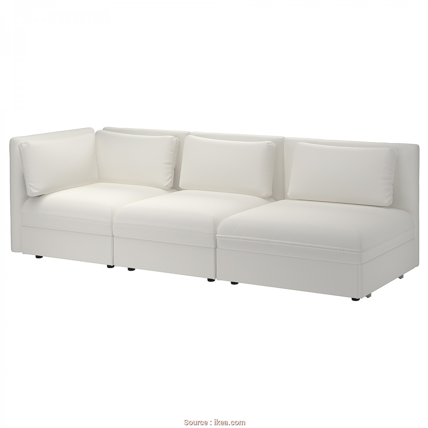 How To Open Ikea Beddinge, Loveable IKEA VALLENTUNA 3-Seat Modular Sofa With Sofa-Bed