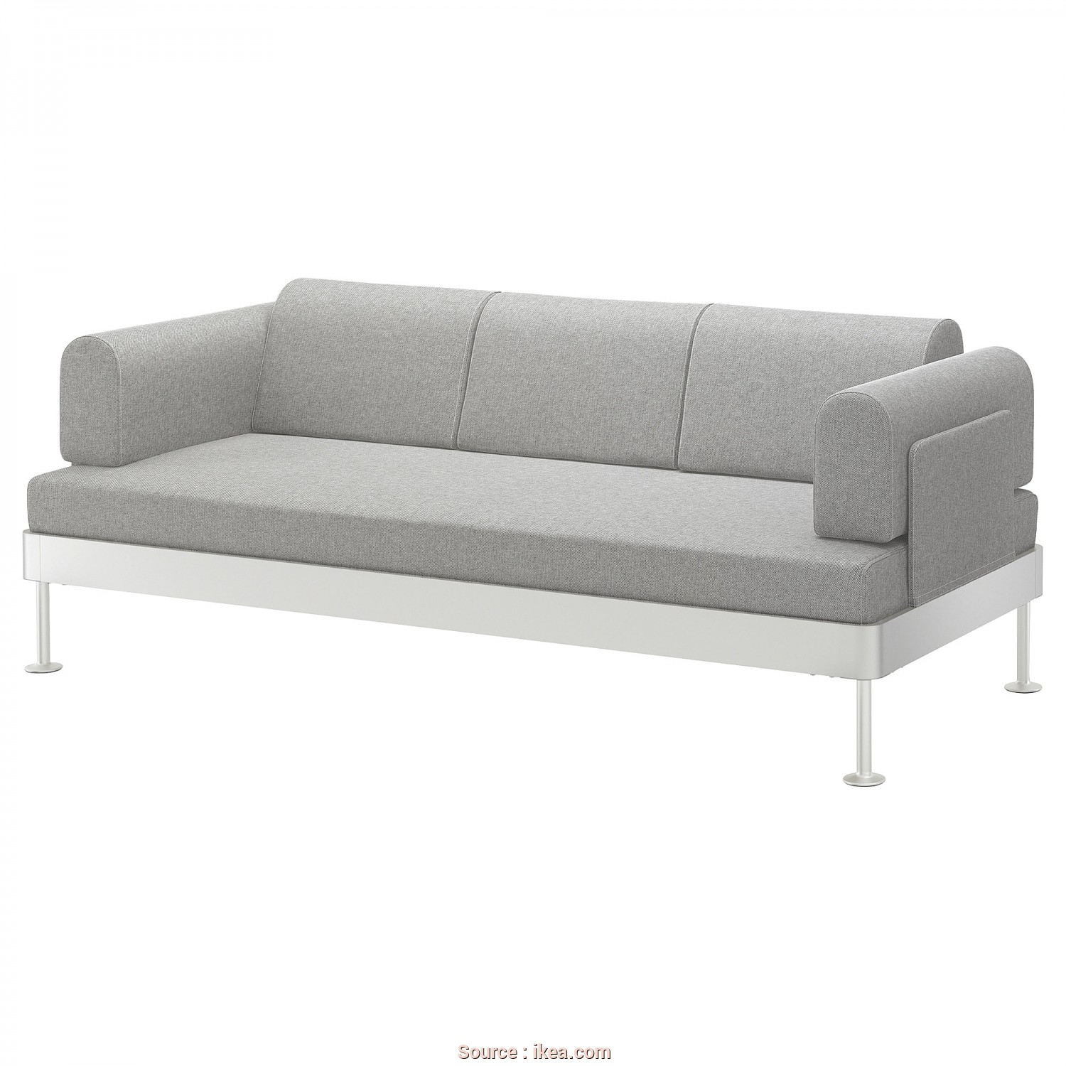 Ikea 3 Seater Futon Sofa Bed, Maestoso IKEA DELAKTIG 3-Seat Sofa, Cover Is Easy To Keep Clean As It Is