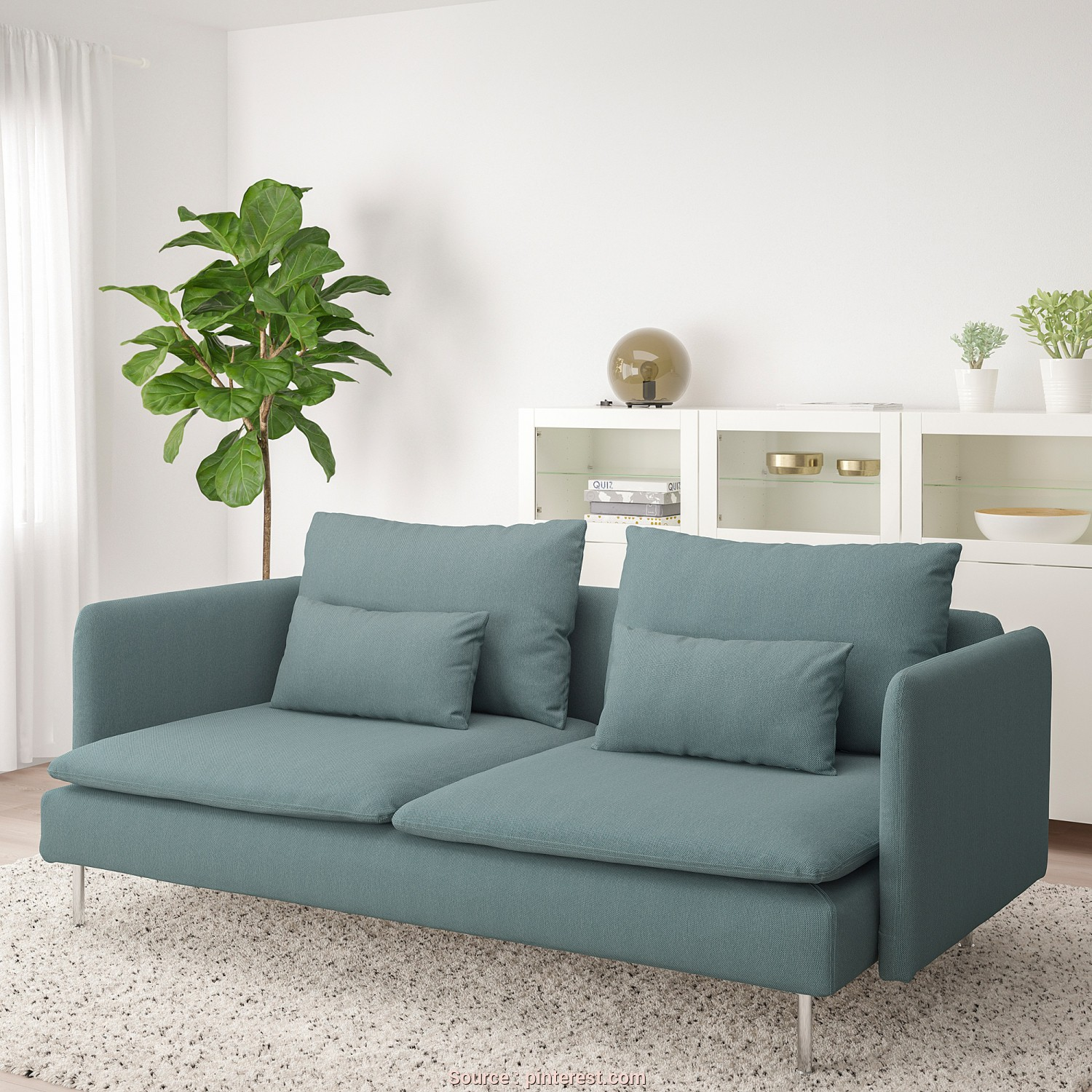 Ikea Asarum, Bettsofa, Casuale YPPERLIG 3-Seat Sleeper Sofa, Orrsta Light Gray In 2019, Future Space, Pinterest, Sofa, Sleeper Sofa, Chair Bed