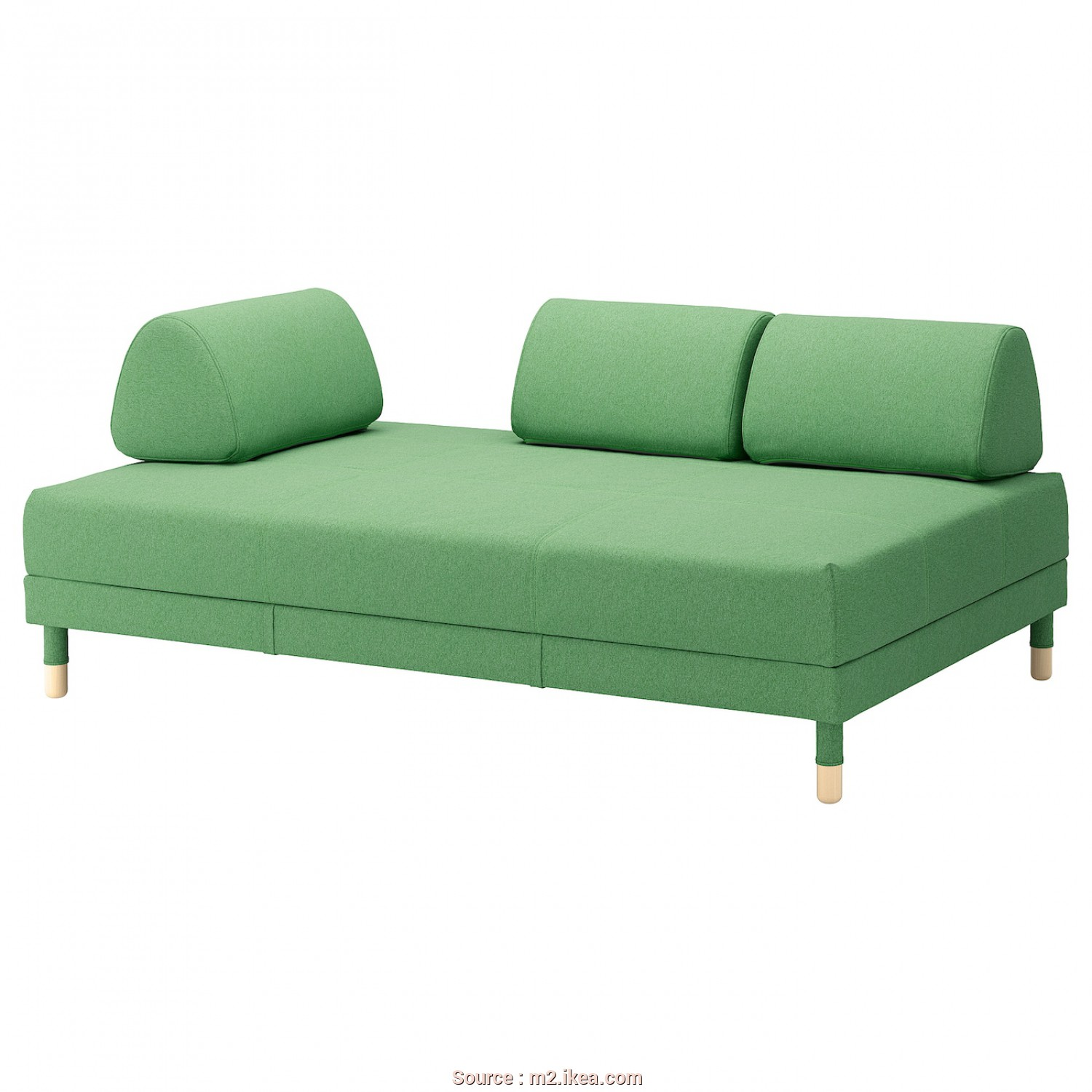 Ikea Asarum Maße, Magnifico Sofa-Bed FLOTTEBO Lysed Green