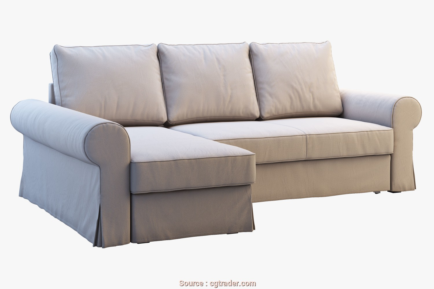 Ikea Backabro Armchair, Costoso Ikea Backabro 2 Sofas, 3D Model