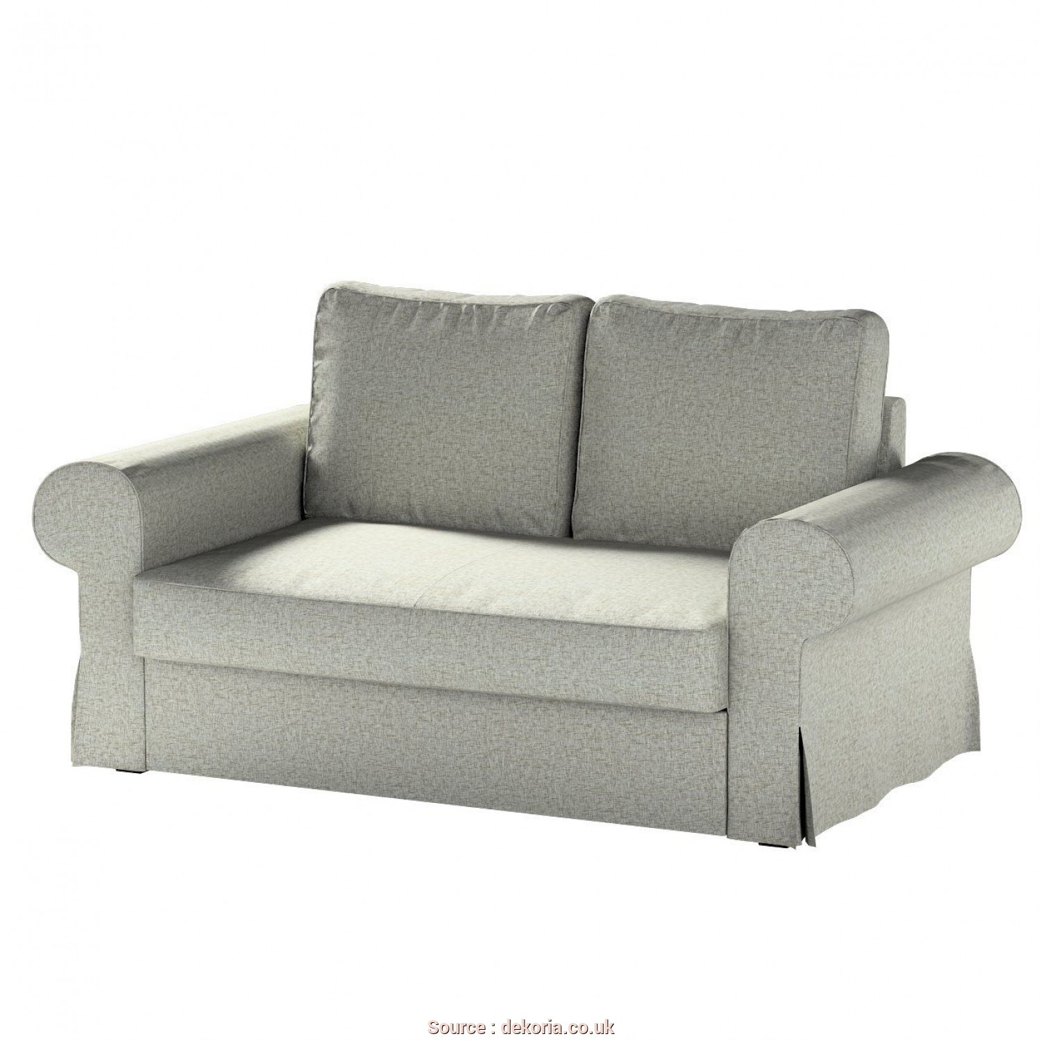 Ikea Backabro Bettsofa, A Buon Mercato Backabro 2-Seat Sofa, Cover In Collection Living, Fabric: 106-96