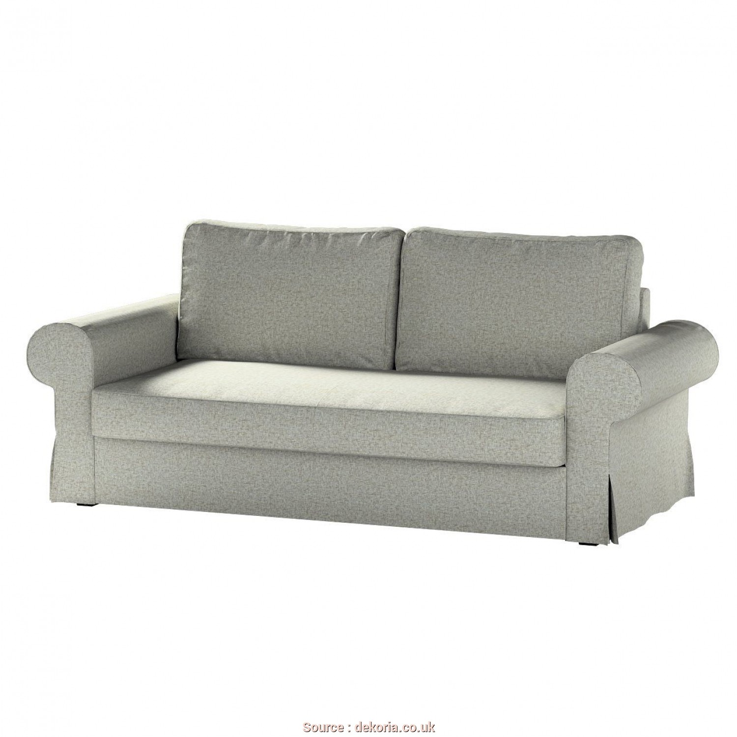Ikea Backabro Bettsofa, Stupefacente Backabro 3-Seat Sofa, Cover In Collection Living, Fabric: 106-96