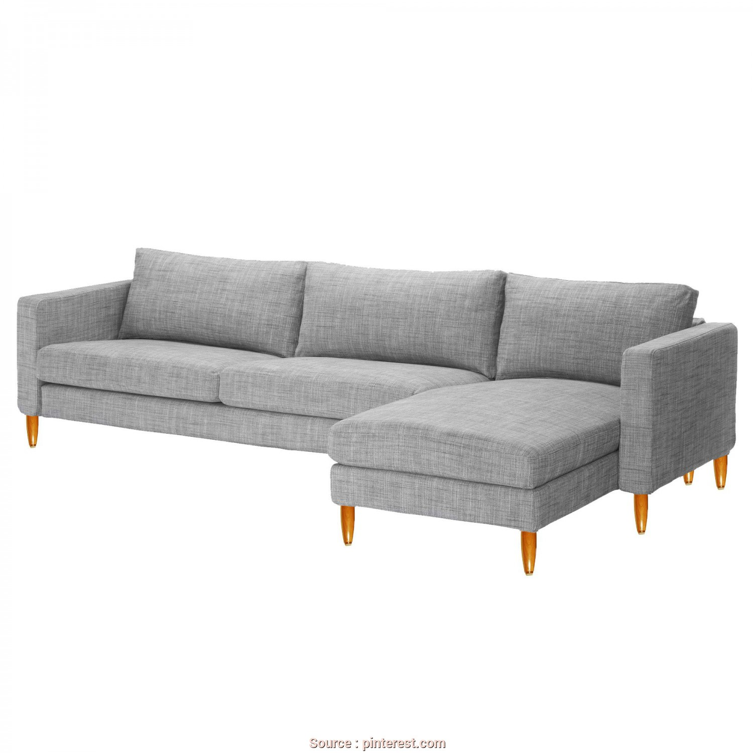 Ikea Backabro, Bettsofa, Bellissimo Ikea Karlstad Sofa + Chaise With, Legs., $610 Total (BOUGHT