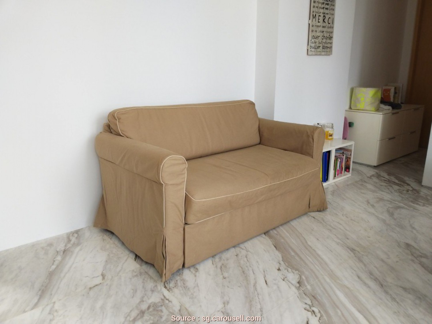 Ikea Backabro Koltuk, Magnifico IKEA BACKABRO Two-Seat Sofa-Bed