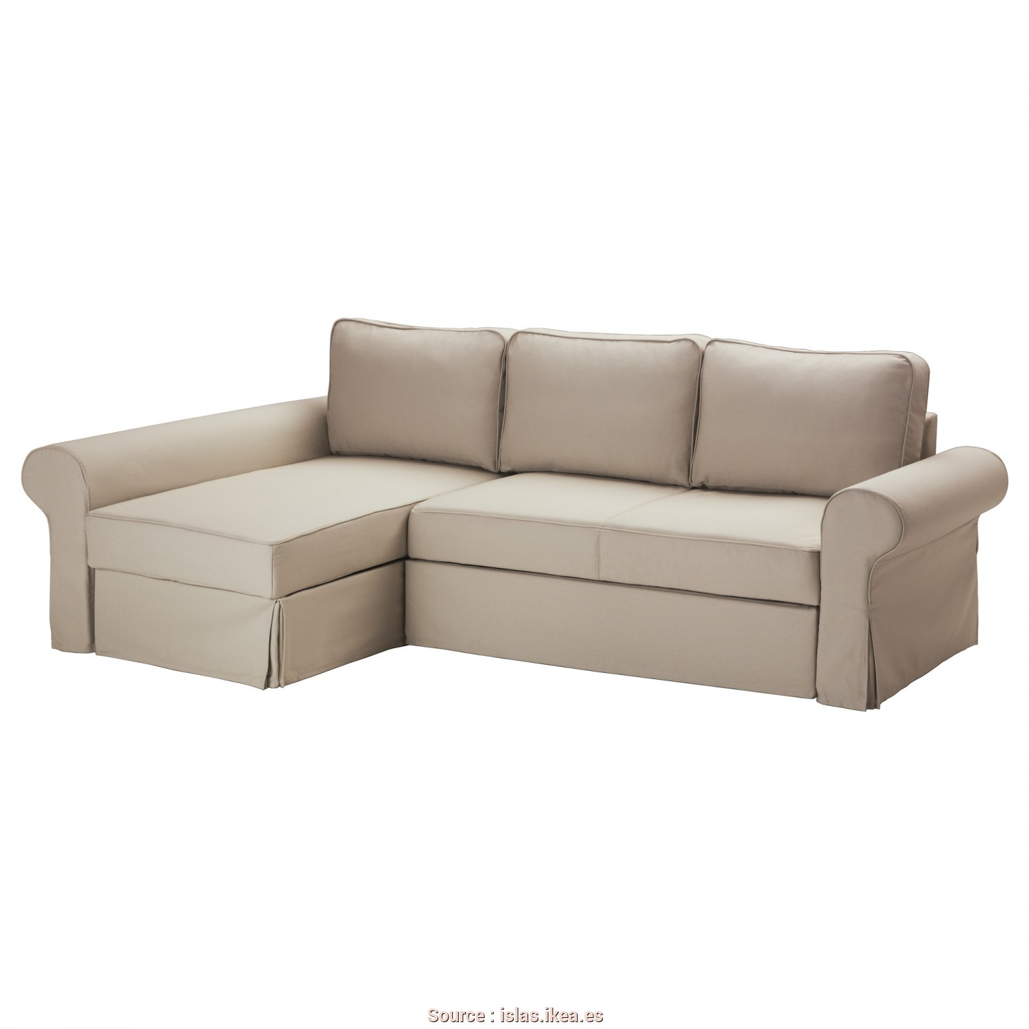 Loveable 6 Ikea Backabro Sofa, With Chaise Instructions