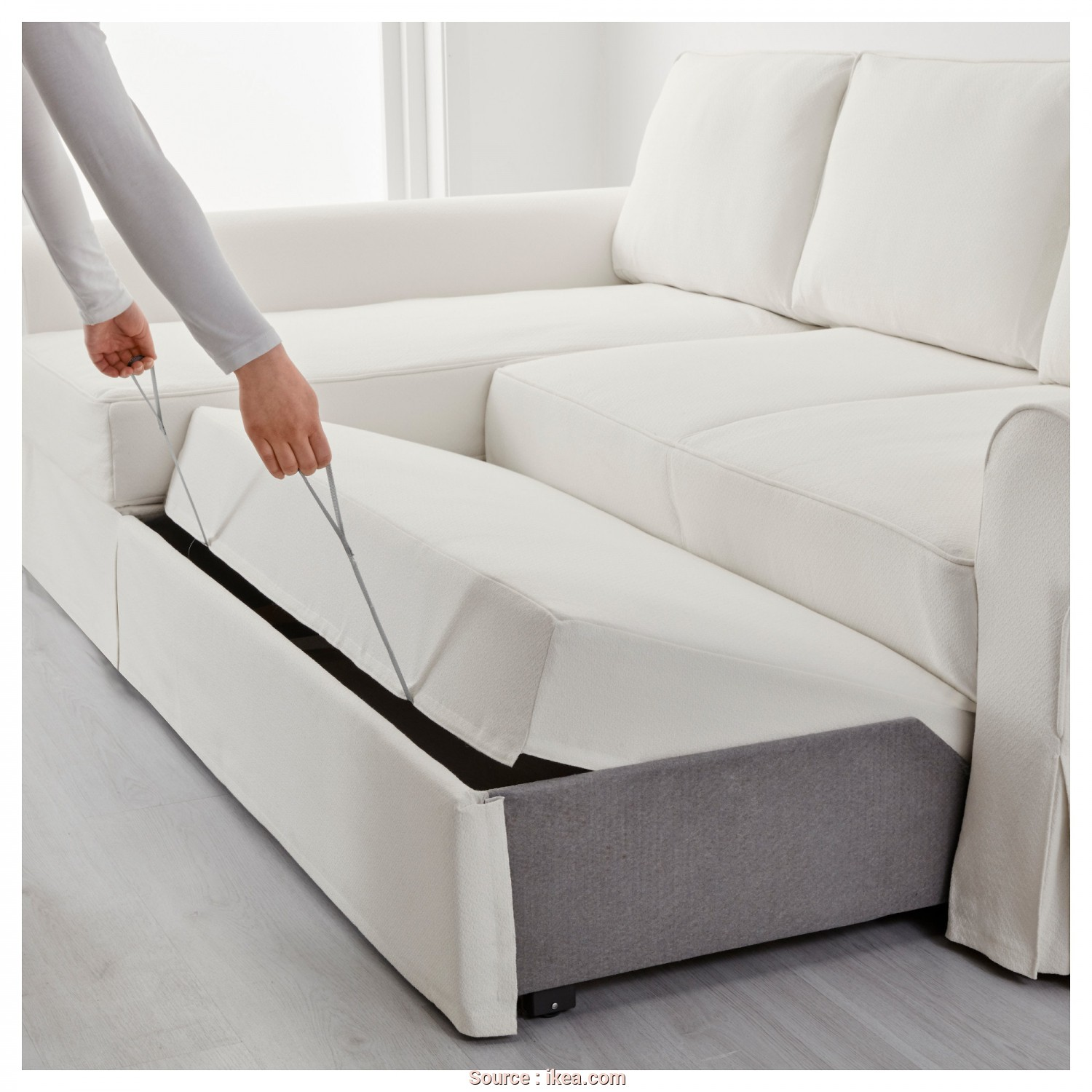 Ikea Backabro Sofa, With Chaise Instructions, Costoso BACKABRO Sofa, With Chaise Longue Hylte White