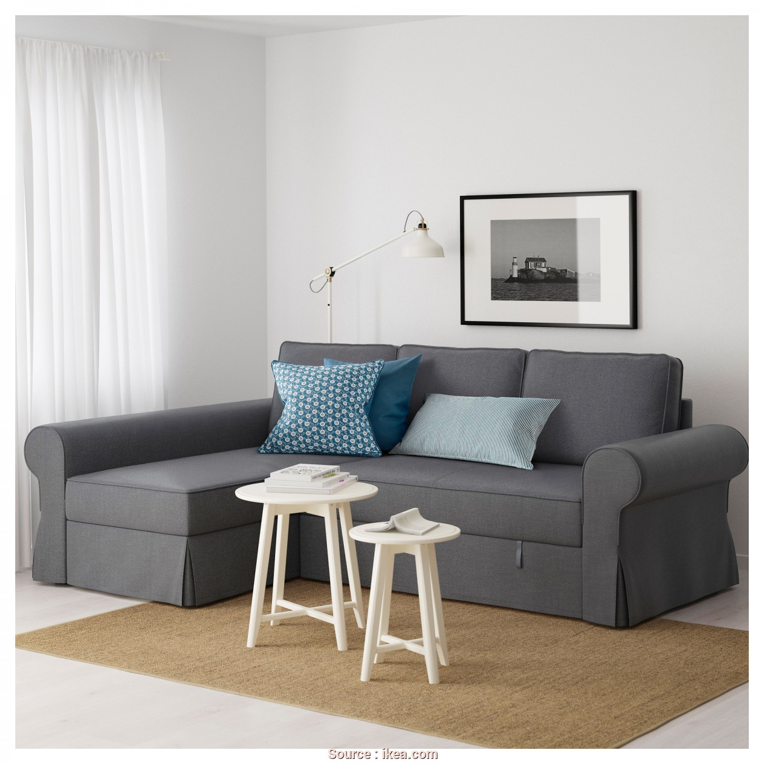 Ikea Backabro Sofa, With Chaise Instructions, Casuale BACKABRO Sofa, With Chaise Longue Nordvalla Dark Grey