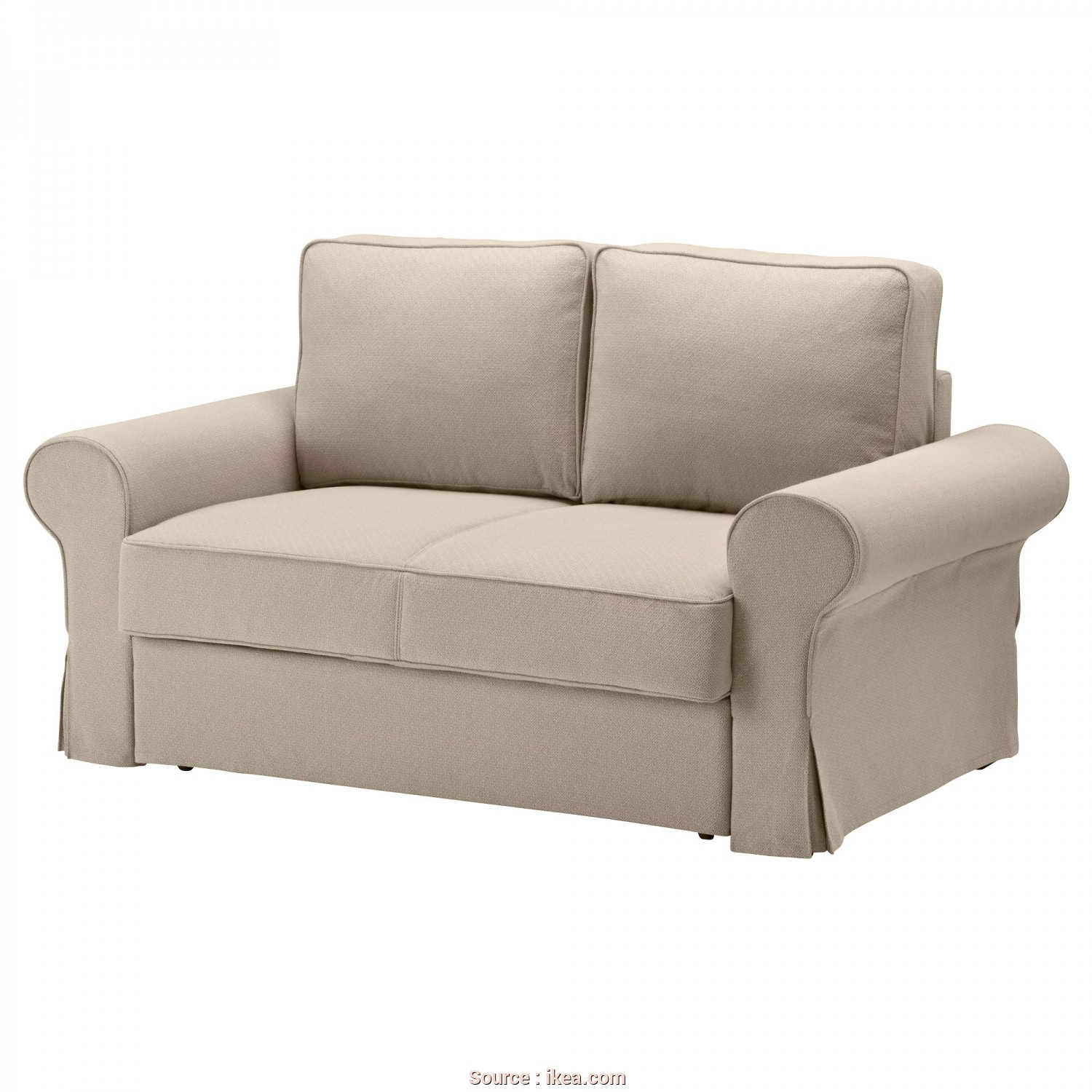 Ikea Backabro Test, A Buon Mercato BACKABRO Two-Seat Sofa-Bed Hylte Beige