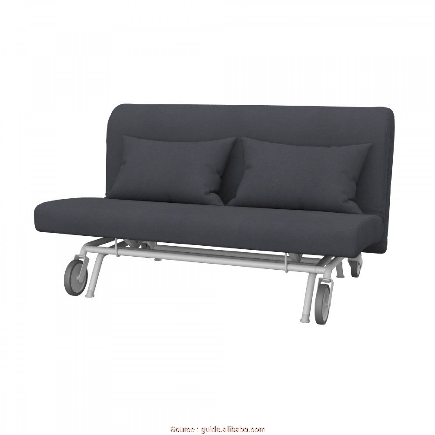 Ikea Backabro Test, Eccezionale Get Quotations · Soferia, IKEA IKEA PS Sofa 2-Seat Sofa-Bed Cover,, Leather