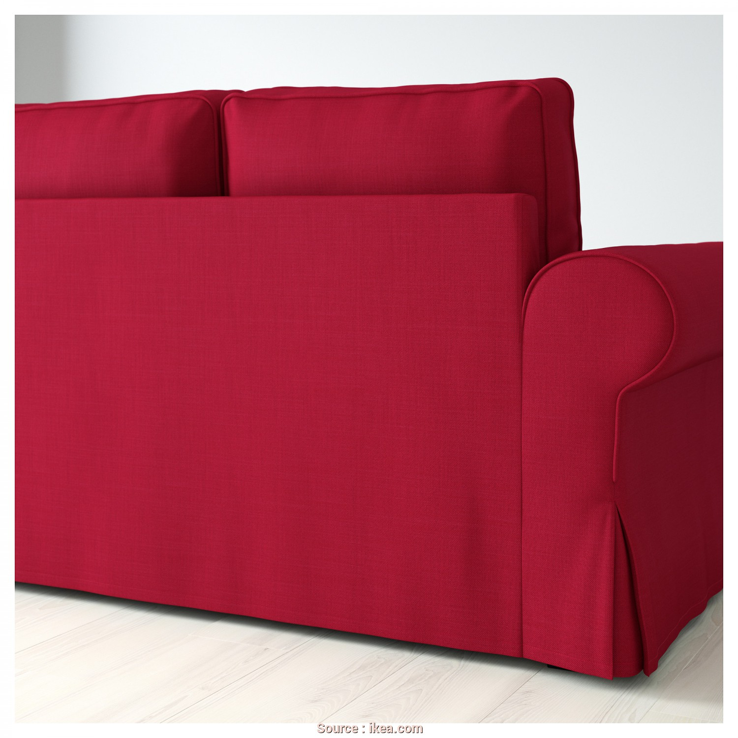 Ikea Backabro Willhaben, Migliore BACKABRO Sofa, With Chaise Longue Nordvalla Red