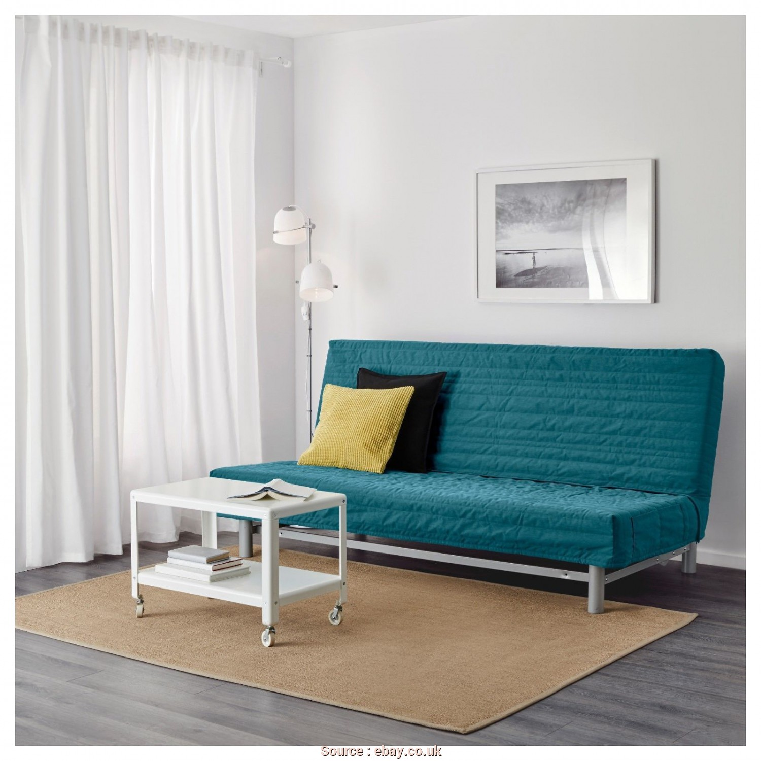 Ikea Beddinge Cover Ebay, Stupefacente New Original IKEA Cover, Beddinge 3 Seat Sofa, In Knisa Turquoise, EBay