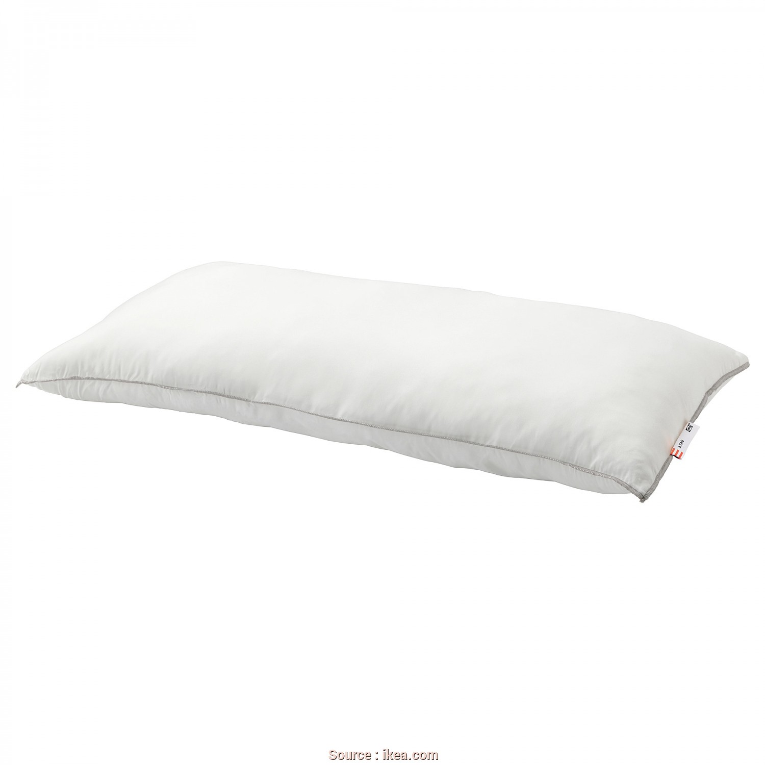 Ikea Cuscino Rolleka, Sbalorditivo IKEA AXAG Pillow, Firmer A Firm, Easy-Care Pillow In Brushed Microfibre With