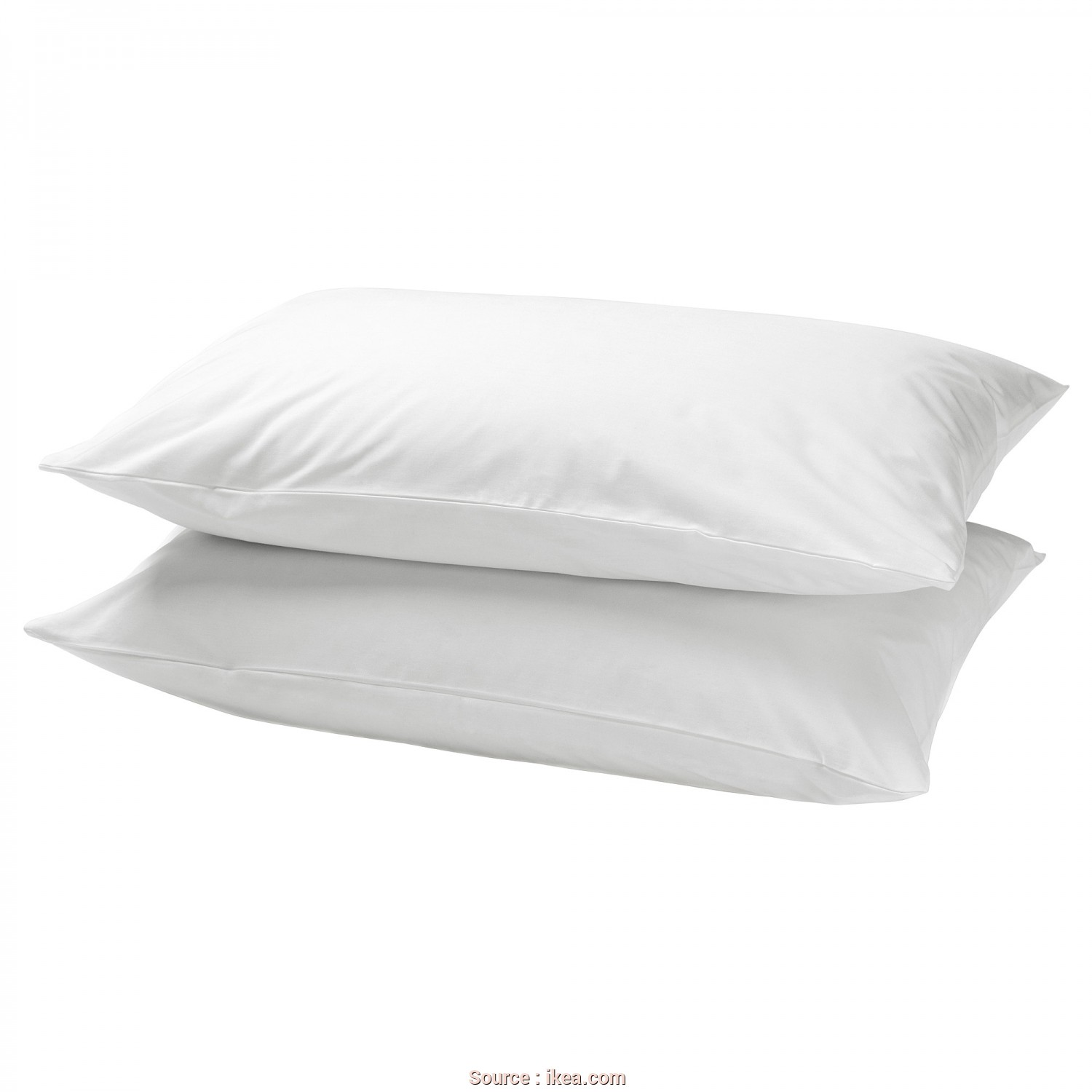 Ikea Cuscino Rolleka, Elegante IKEA DVALA Pillowcase Pure Cotton That Feels Soft, Nice Against Your Skin