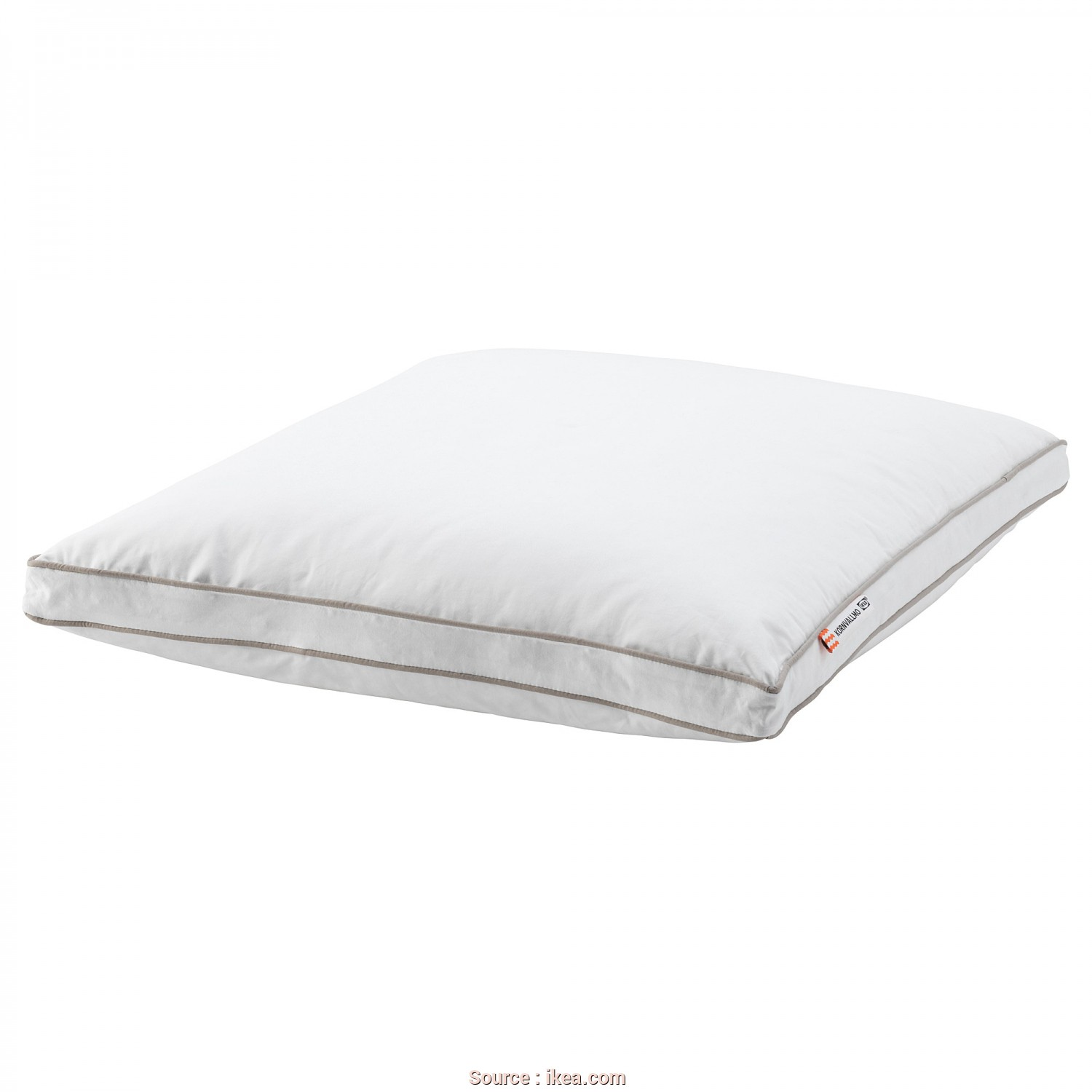 Ikea Cuscino Rolleka, Eccezionale IKEA KORNVALLMO Pillow, Softer A Soft Pillow In Cotton Sateen, Filled With Duck Down