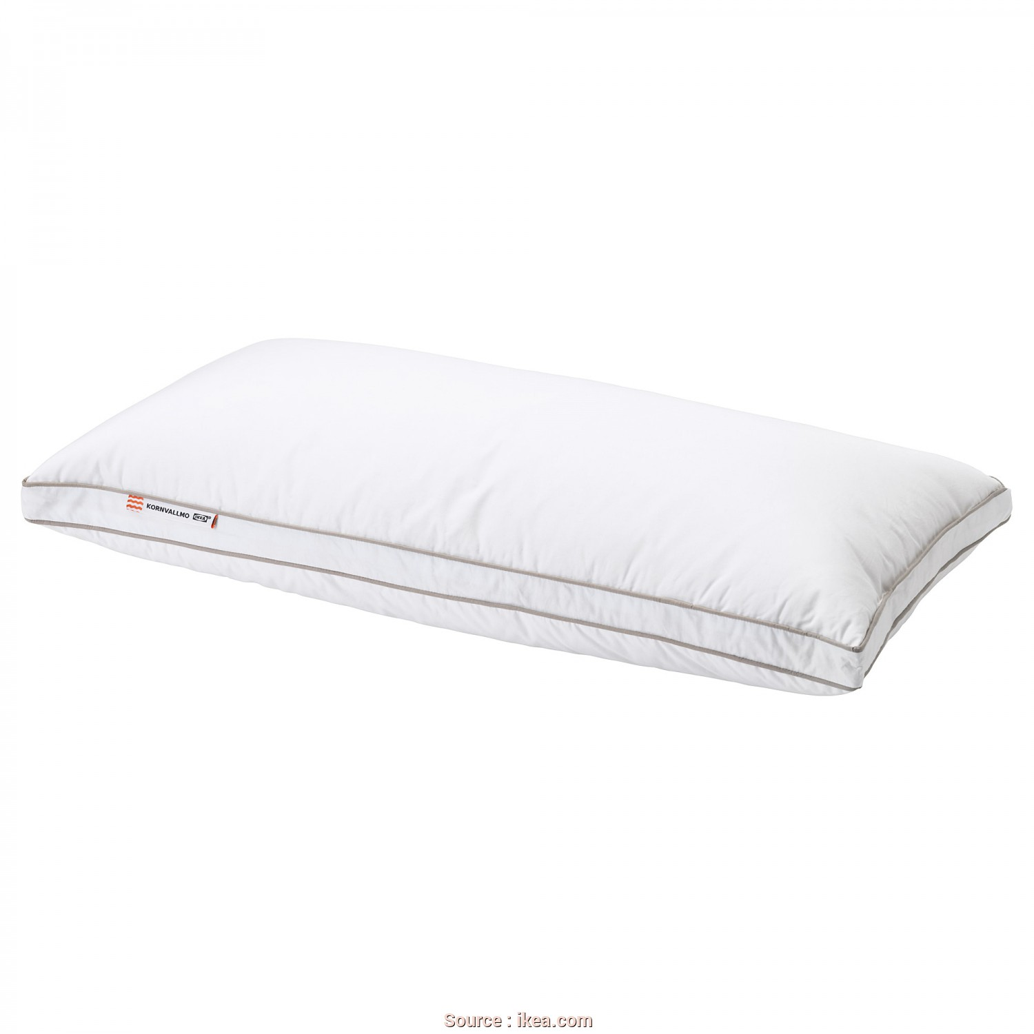 Ikea Cuscino Slan, Affascinante IKEA KORNVALLMO Pillow, Softer A Soft Pillow In Cotton Sateen, Filled With Duck Down