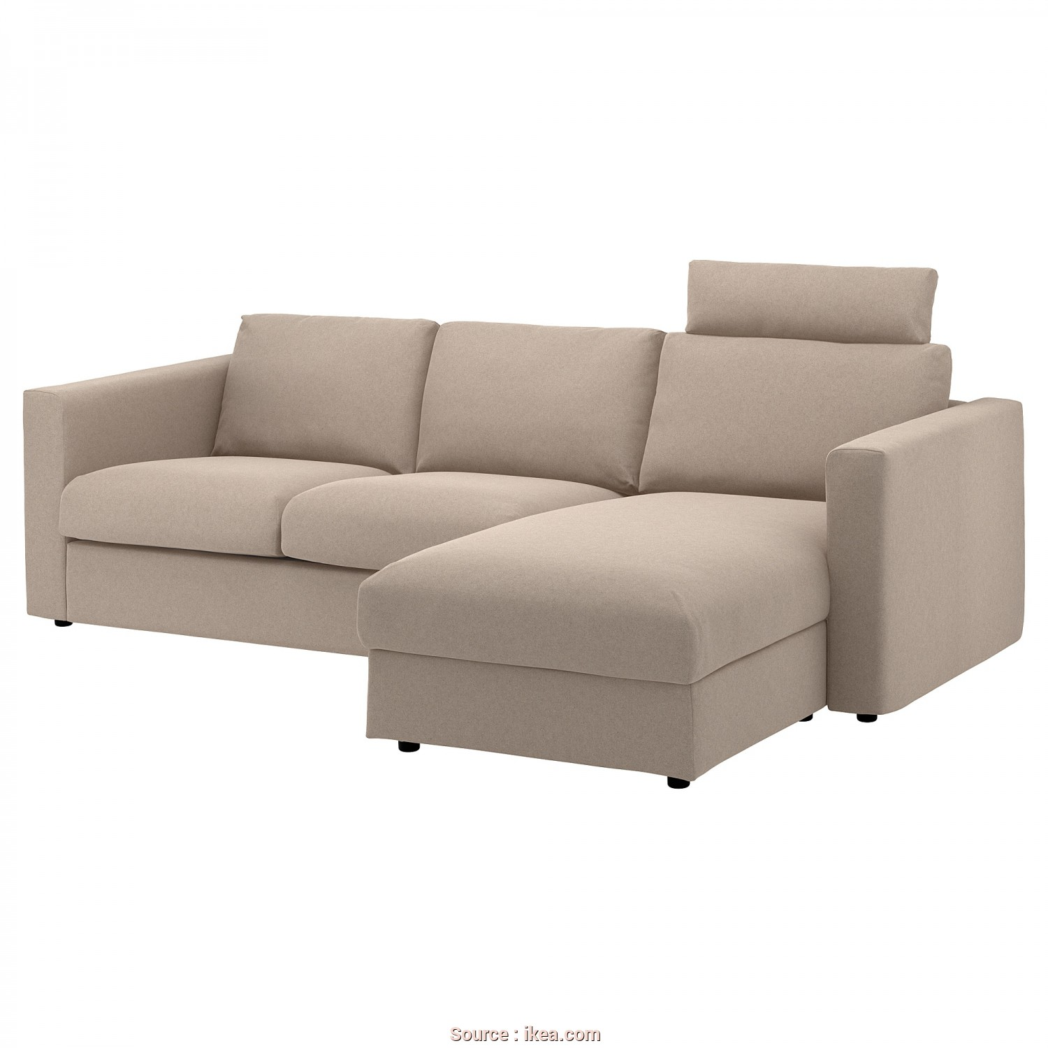 Ikea Divano 2 Posti, Chaise Longue, Eccezionale IKEA VIMLE 3-Seat Sofa, Cover Is Easy To Keep Clean Since It Is
