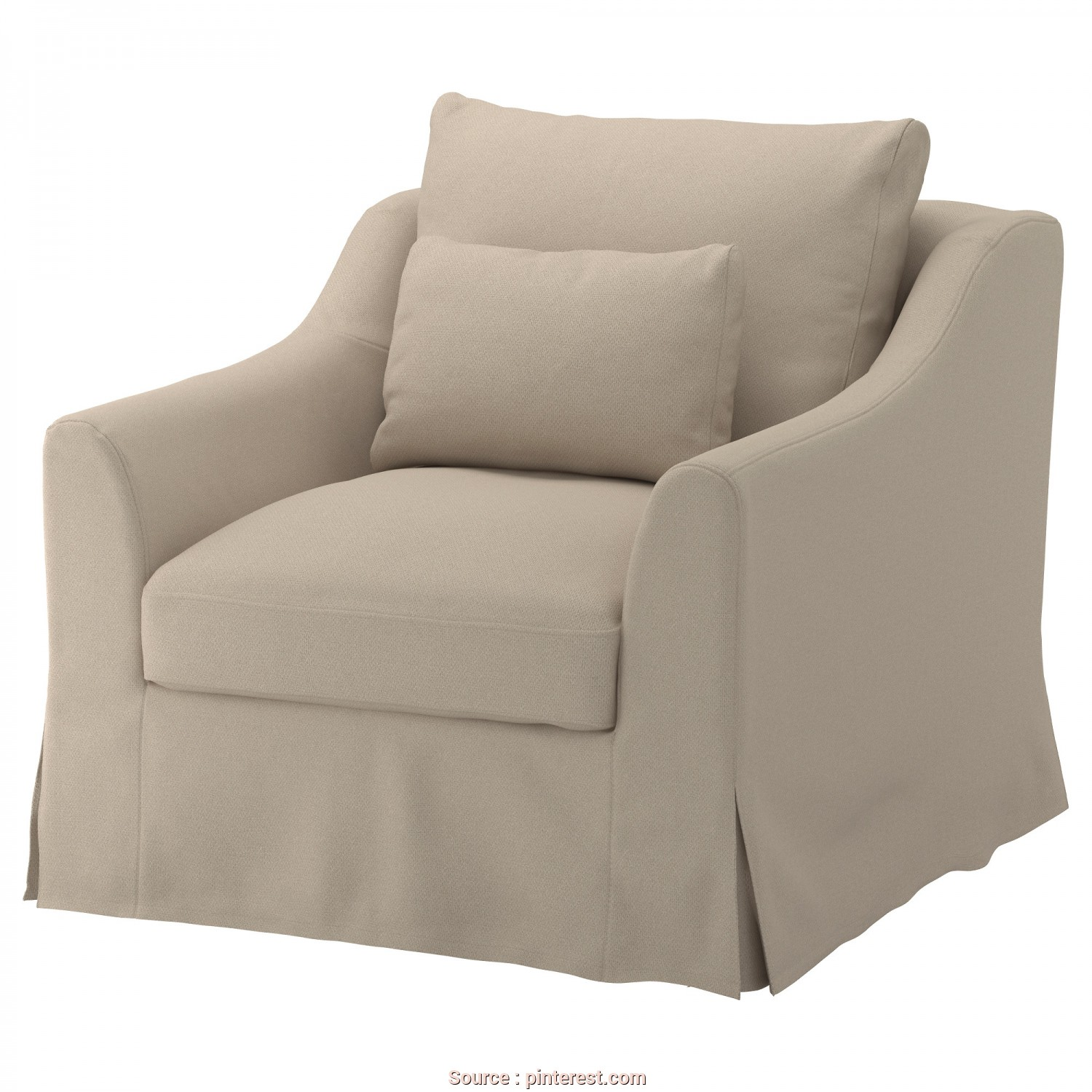 Ikea Divano Letto Farlov, Magnifico IKEA, FÄRLÖV, Chair, Flodafors Beige,, Yarn-Dyed Fabric With Natural Hints Of Flax That Gives, Cover A Texture That Both Looks, Feels Crisp