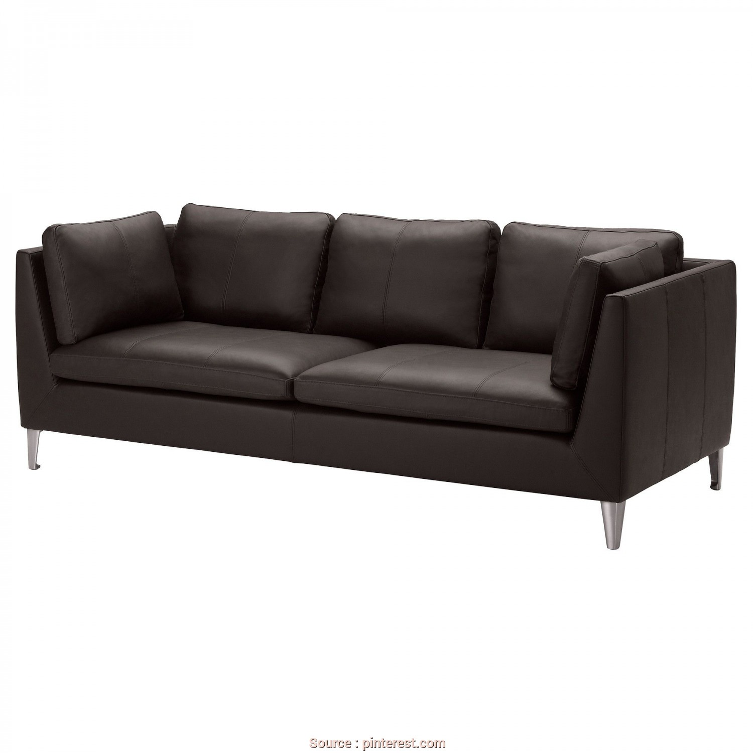 Ikea Divano Stockholm 2 Posti, Superiore IKEA, STOCKHOLM Sofa, Elegant Dark Brown, Well It Sounds Comfy,, Those Side Rests Look Able To Be Propped Up Against To …, Southwest, Mom&Dad In