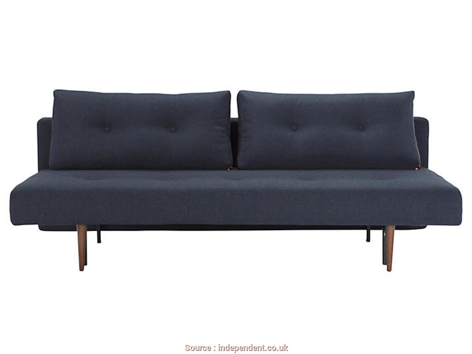Ikea Futon Video, Classy Designed, Made In Denmark, This Stylish, Opens, By Pulling, The Base, Dropping, Back. When Flat, It Gives A Spacious Sleeping Area Of
