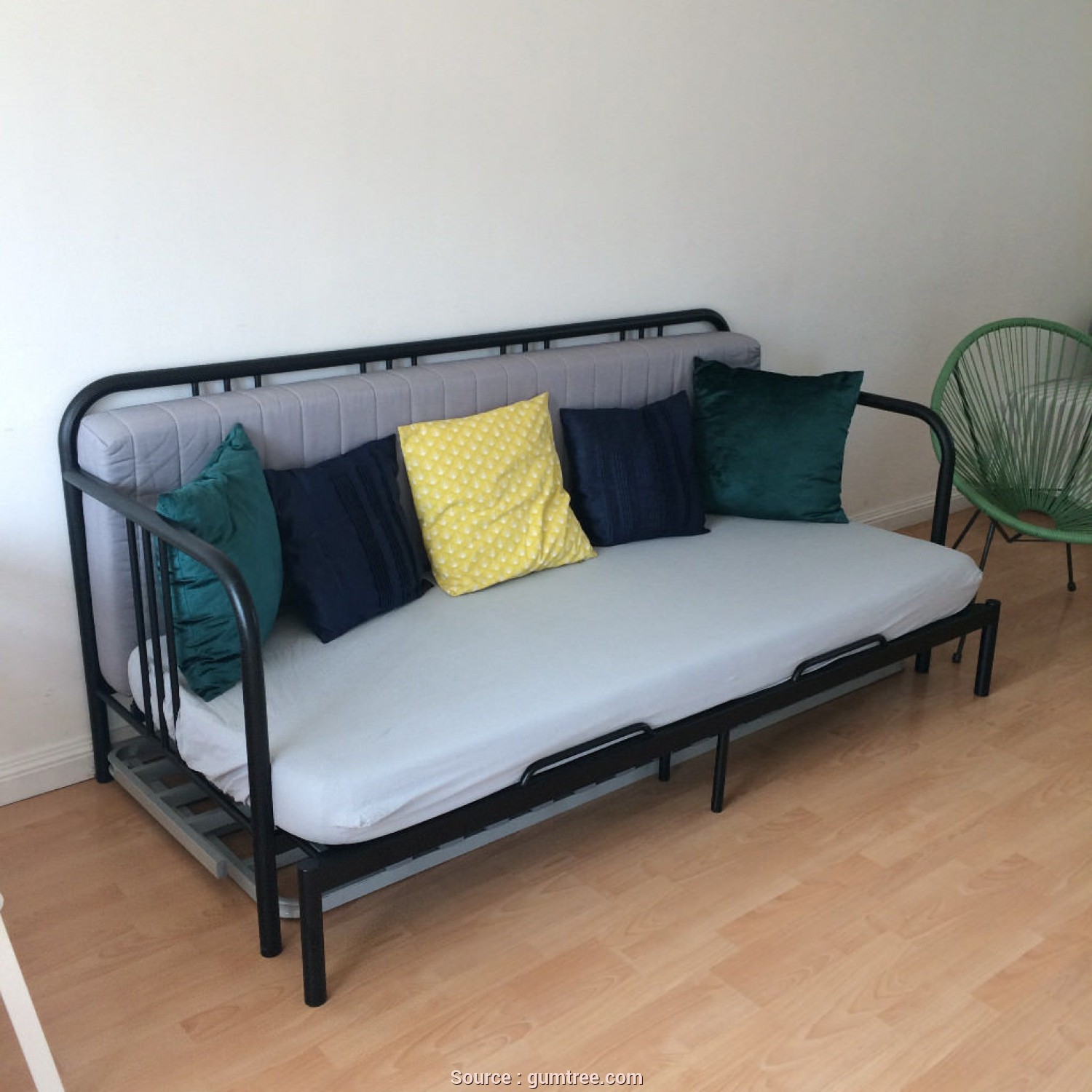Ikea Futon Vw T5, Minimalista IKEA Fyresdal Sofa Bed/Day Bed. Free Mattresses., In Elgin, Moray