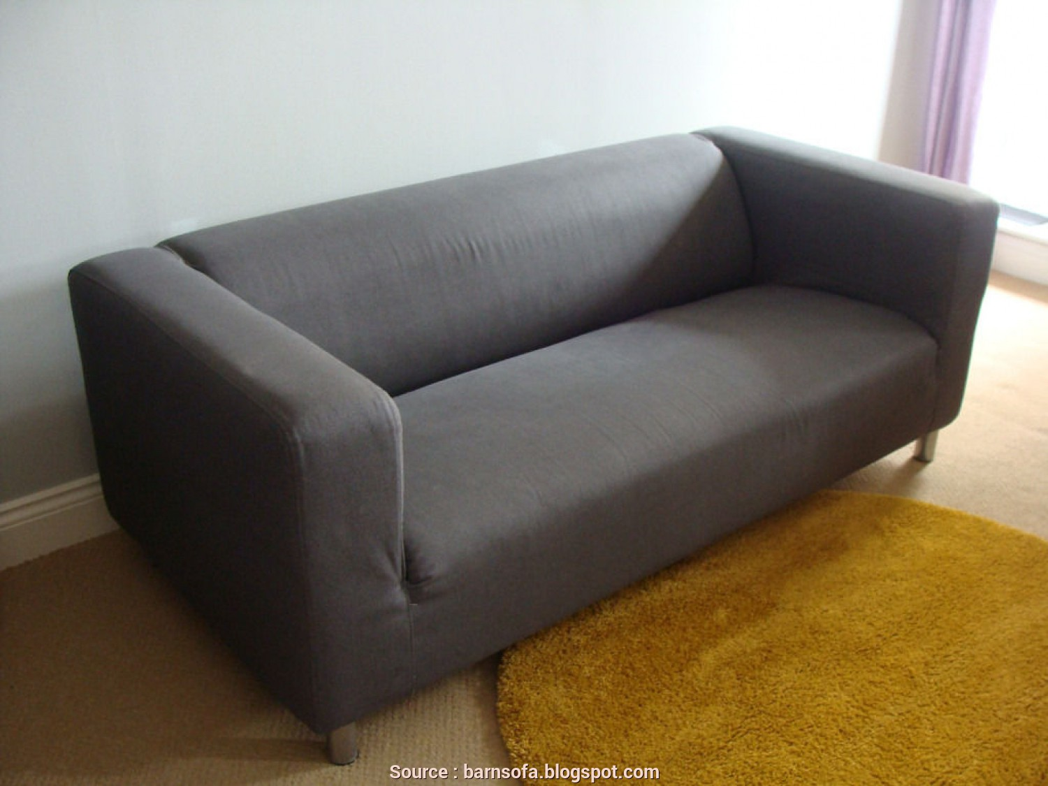 Ikea Klippan 2 Seater Sofa Review, Deale IKEA Klippan, Seat Sofa, Sale With Dark Grey Flackarp