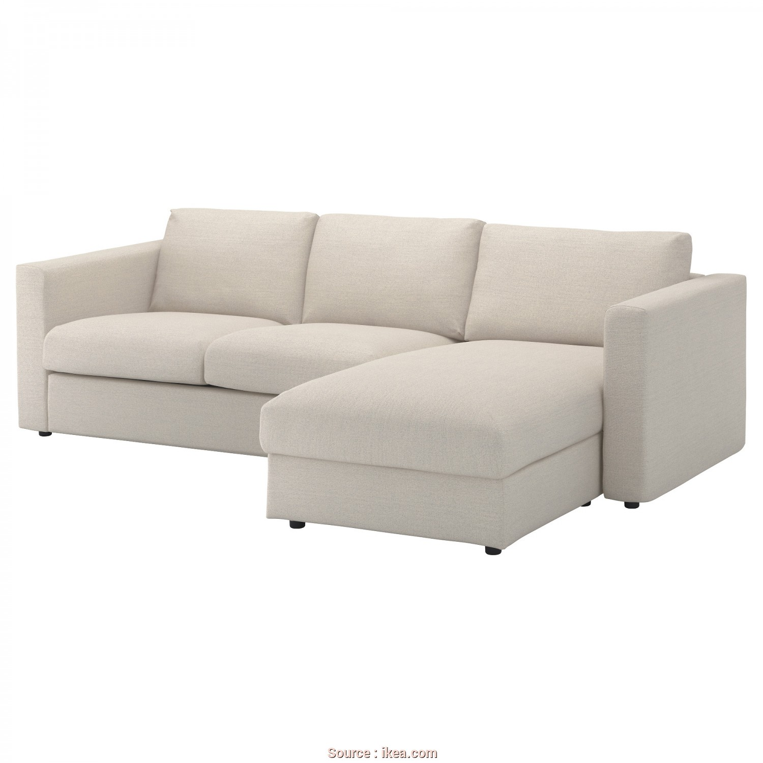 Ikea Klippan 3 Seter, Migliore IKEA VIMLE 3-Seat Sofa, Cover Is Easy To Keep Clean Since It Is