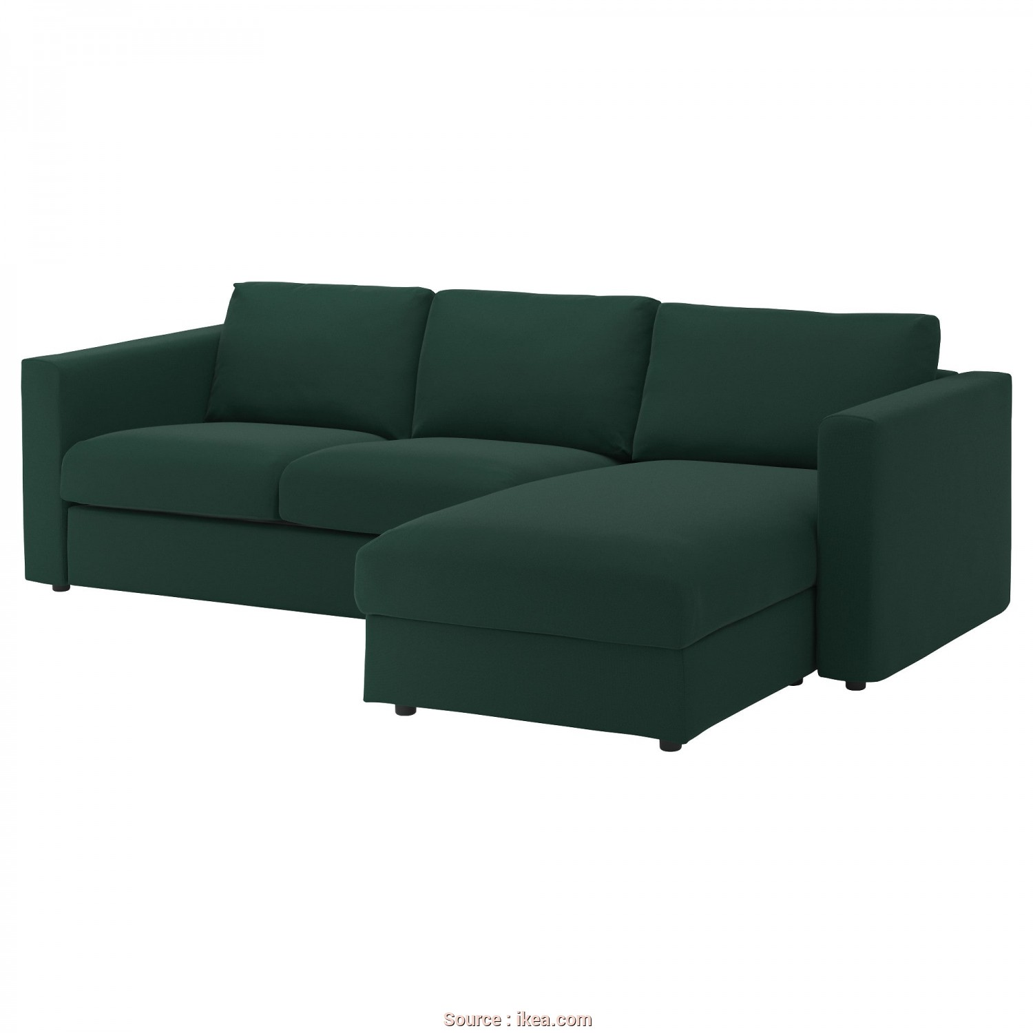 Ikea Klippan 3 Seter, Bello IKEA VIMLE 3-Seat Sofa, Cover Is Easy To Keep Clean Since It Is
