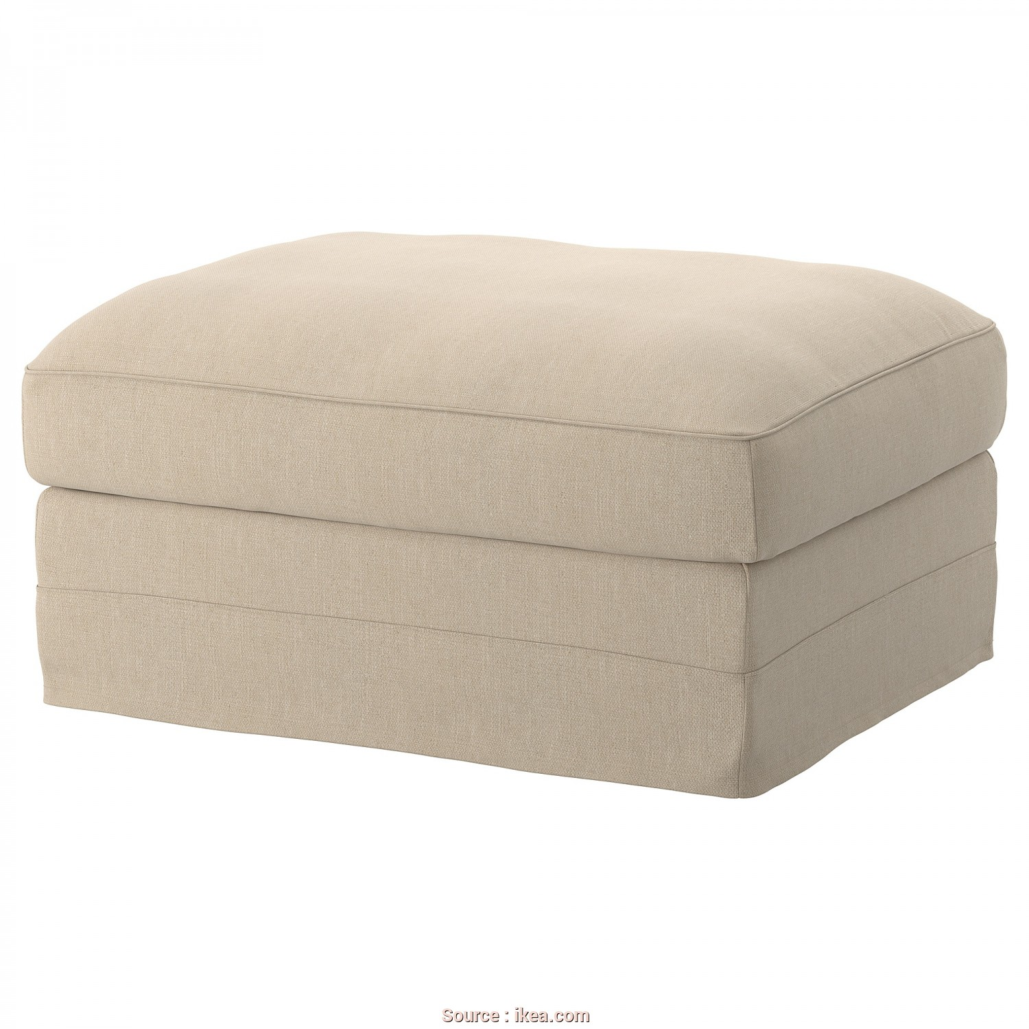Ikea Klippan Footstool Cover, Superiore IKEA GRÖNLID Cover, Footstool With Storage