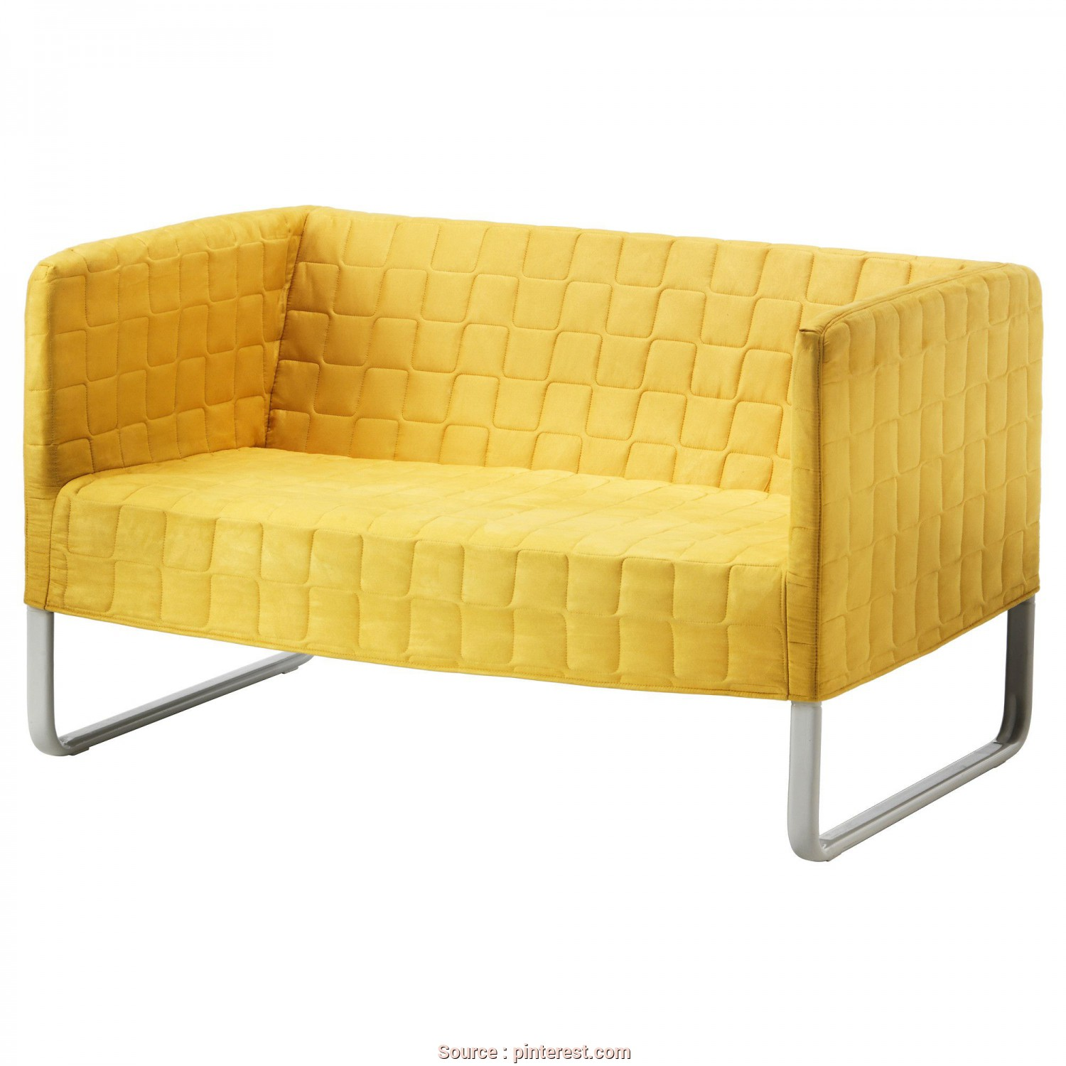 Ikea Klippan Gelb, Esotico KNOPPARP Loveseat, Bright Yellow, IKEA, Cindy