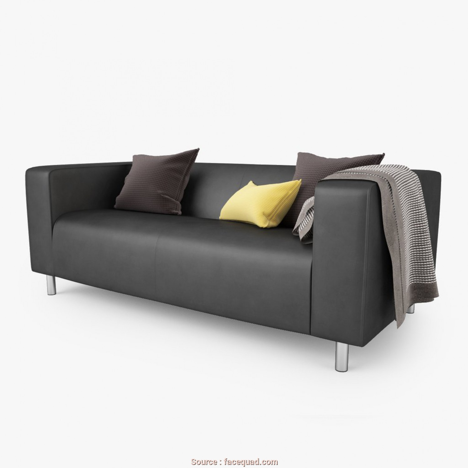 Ikea Klippan Loveseat Dimensions, Originale FREE IKEA Klippan Loveseat Sofa 3D Model, FaceQuad