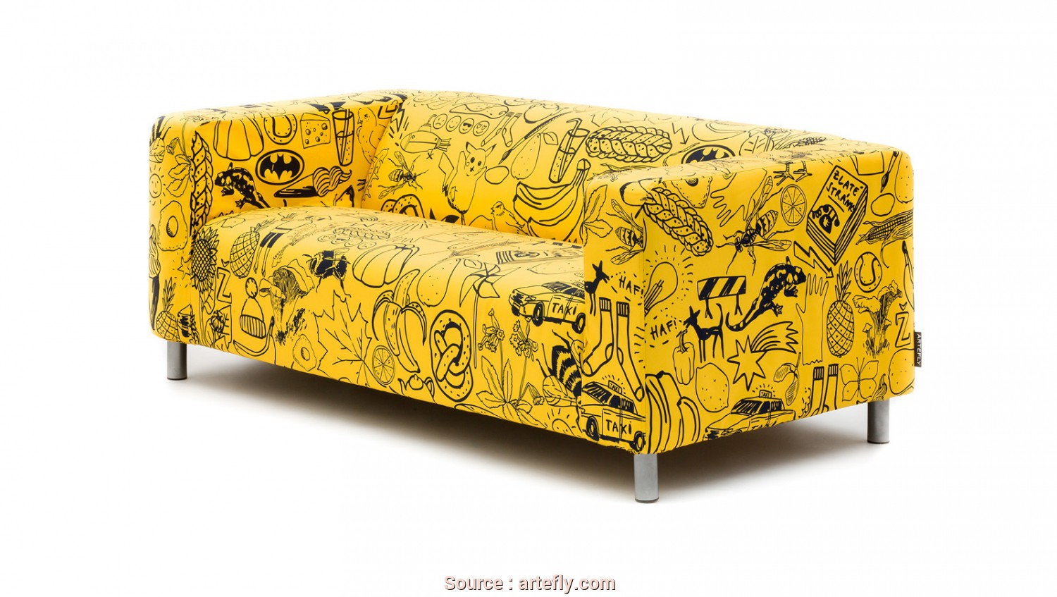 Semplice 5 Ikea Klippan Sofa Covers Yellow