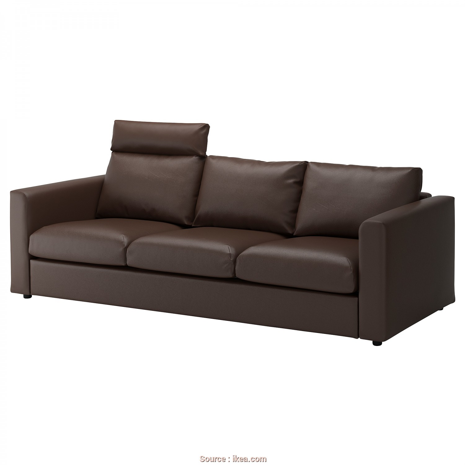 Ikea Klippan Sofa Leather, Stupefacente IKEA VIMLE 3-Seat Sofa, Cover Is Easy To Keep Clean As It Can