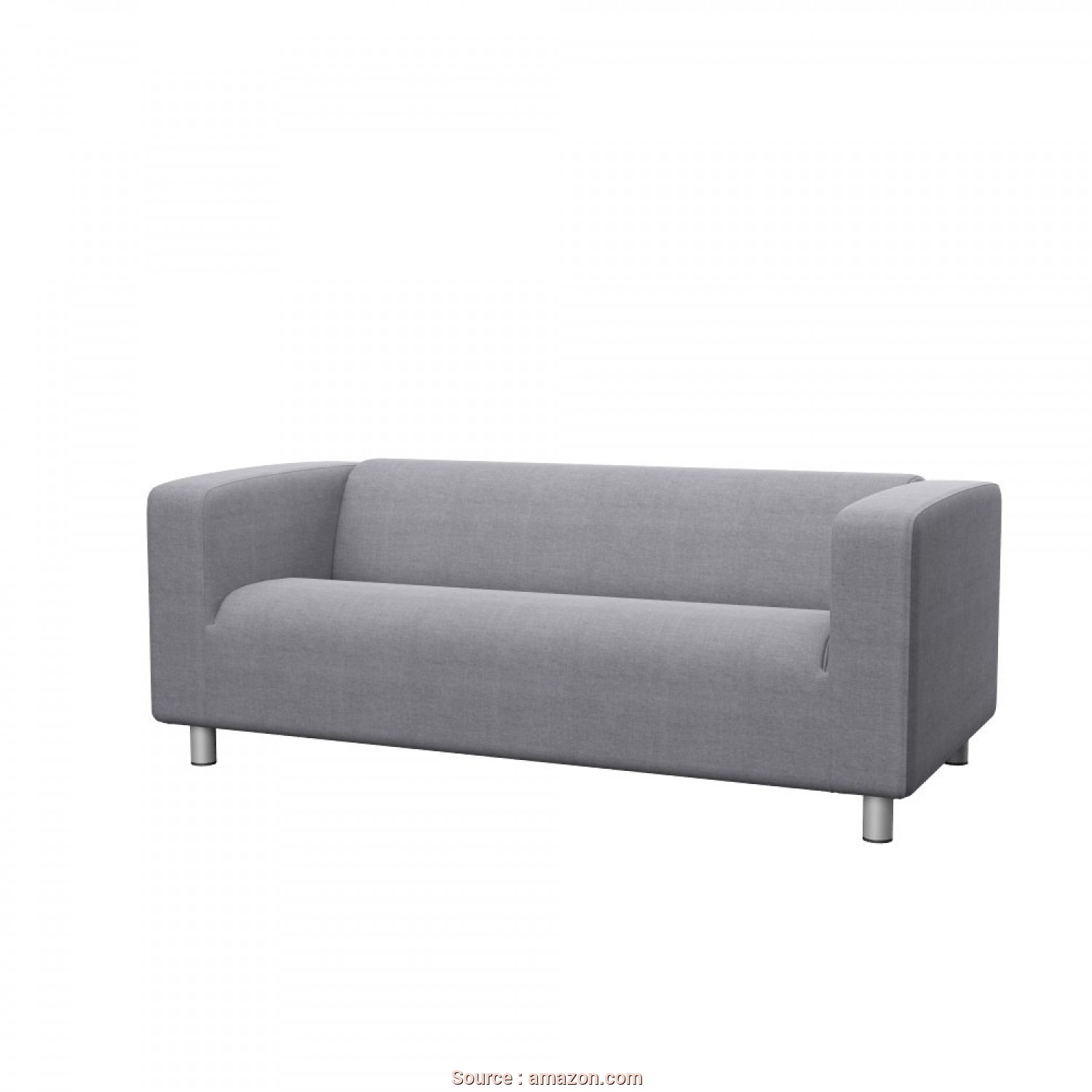 Ikea Klippan Sofa Uae, Loveable Amazon.Com: Soferia, Replacement Cover, IKEA KLIPPAN 2-Seat Sofa, Elegance Light Grey: Home & Kitchen