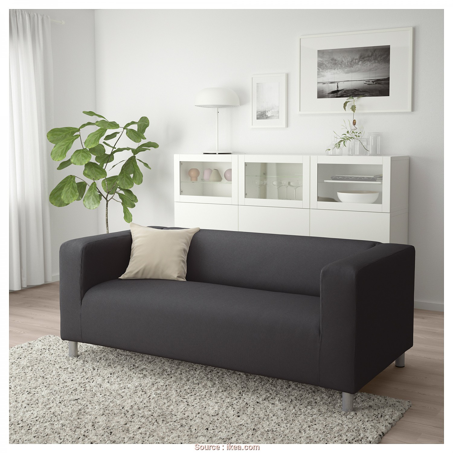 Ikea Klippan Sofa Youtube, Delizioso IKEA KLIPPAN 2-Seat Sofa, Cover Is Easy To Keep Clean Since It Is