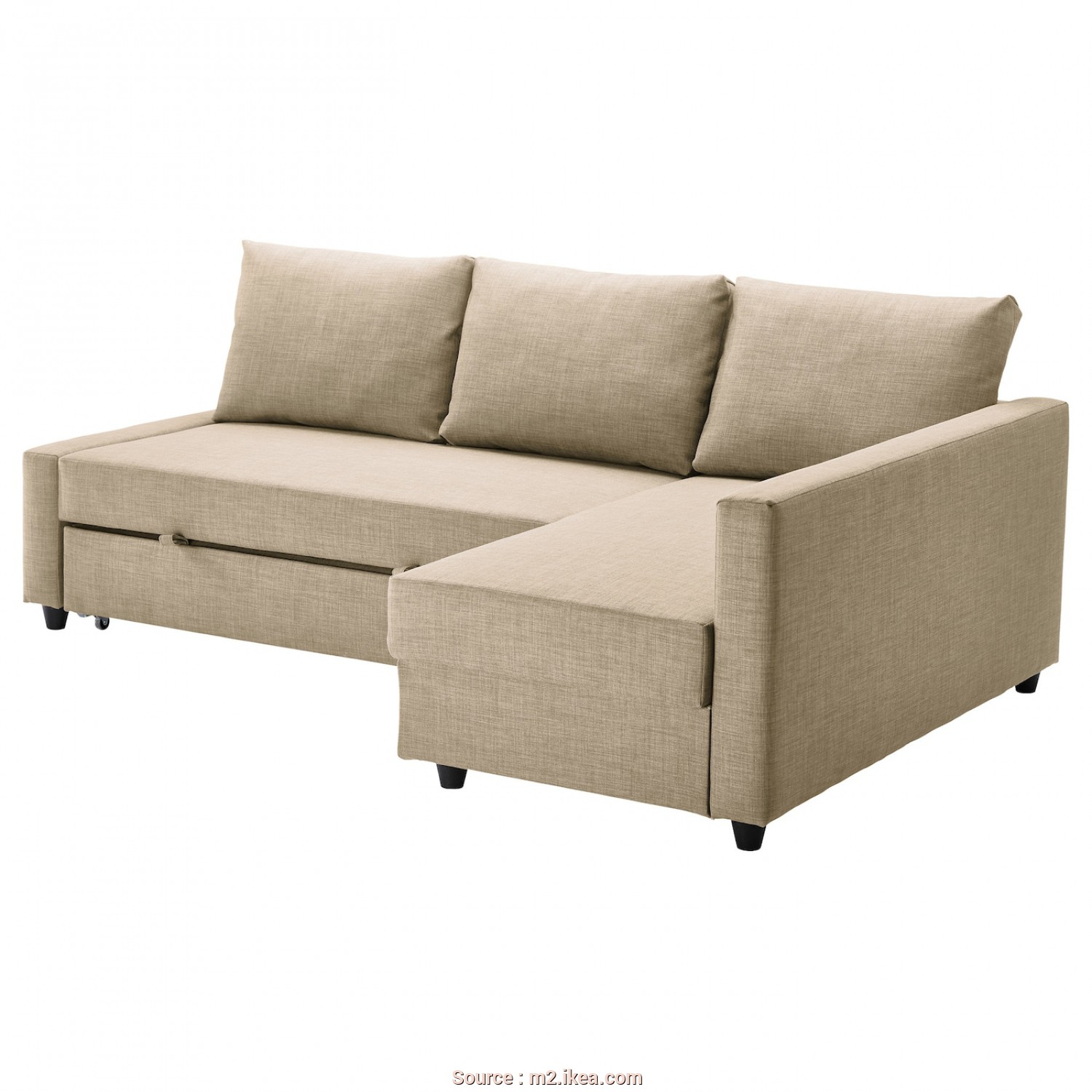Ikea Vilasund Or Friheten, Incredibile Corner Sofa-Bed With Storage FRIHETEN Skiftebo Beige