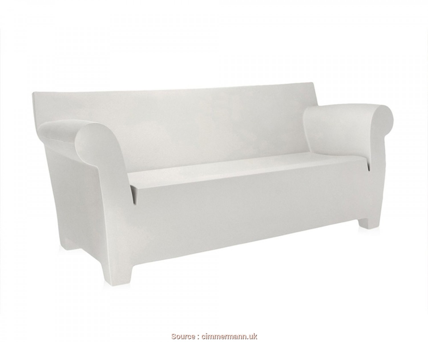 Kartell Divano Outdoor, Ideale Kartell Bubble Club Sofa