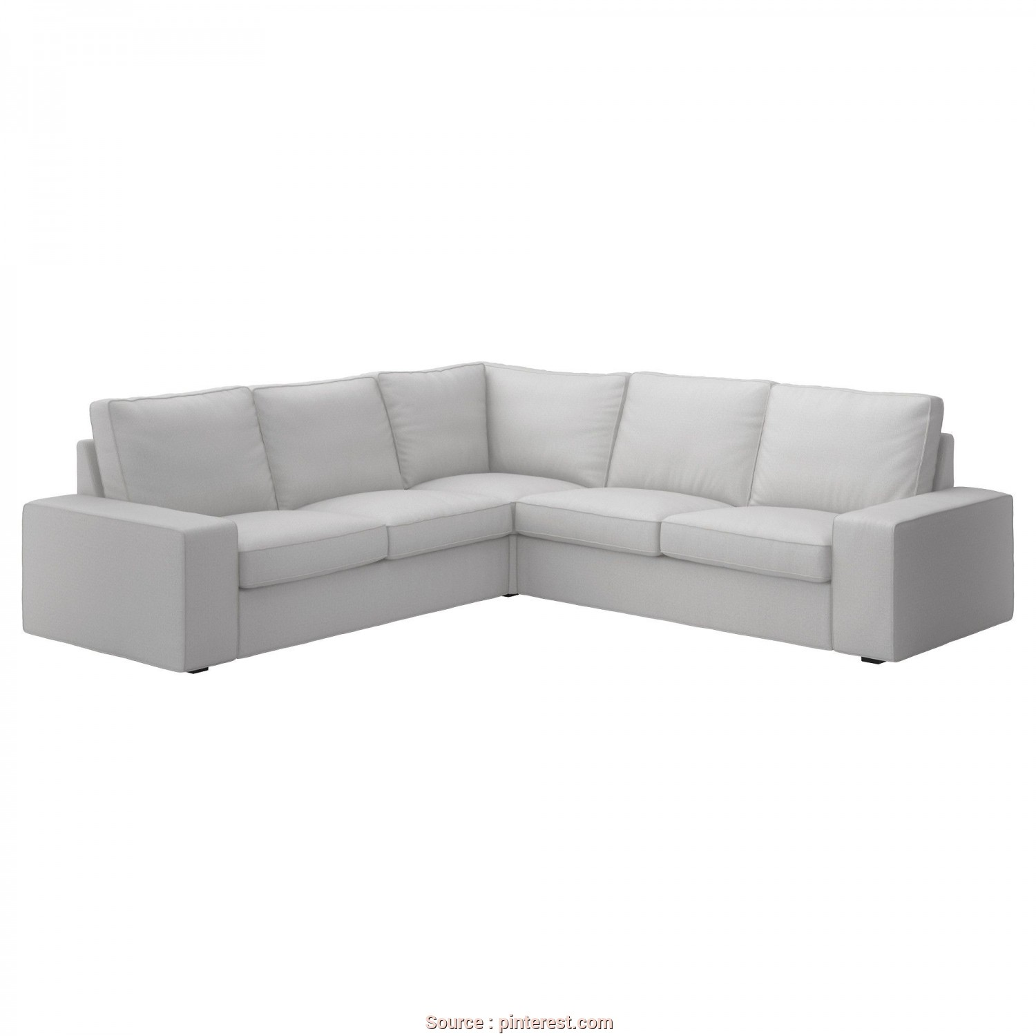 Kivik 3 Posti Beige, Affascinante US, Furniture, Home Furnishings, Make It Home, Corner Sofa, Ikea, Living Room