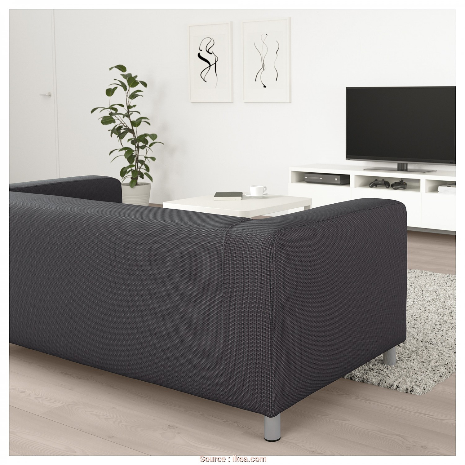 Klippan Ikea España, Originale IKEA KLIPPAN 2-Seat Sofa, Cover Is Easy To Keep Clean Since It Is
