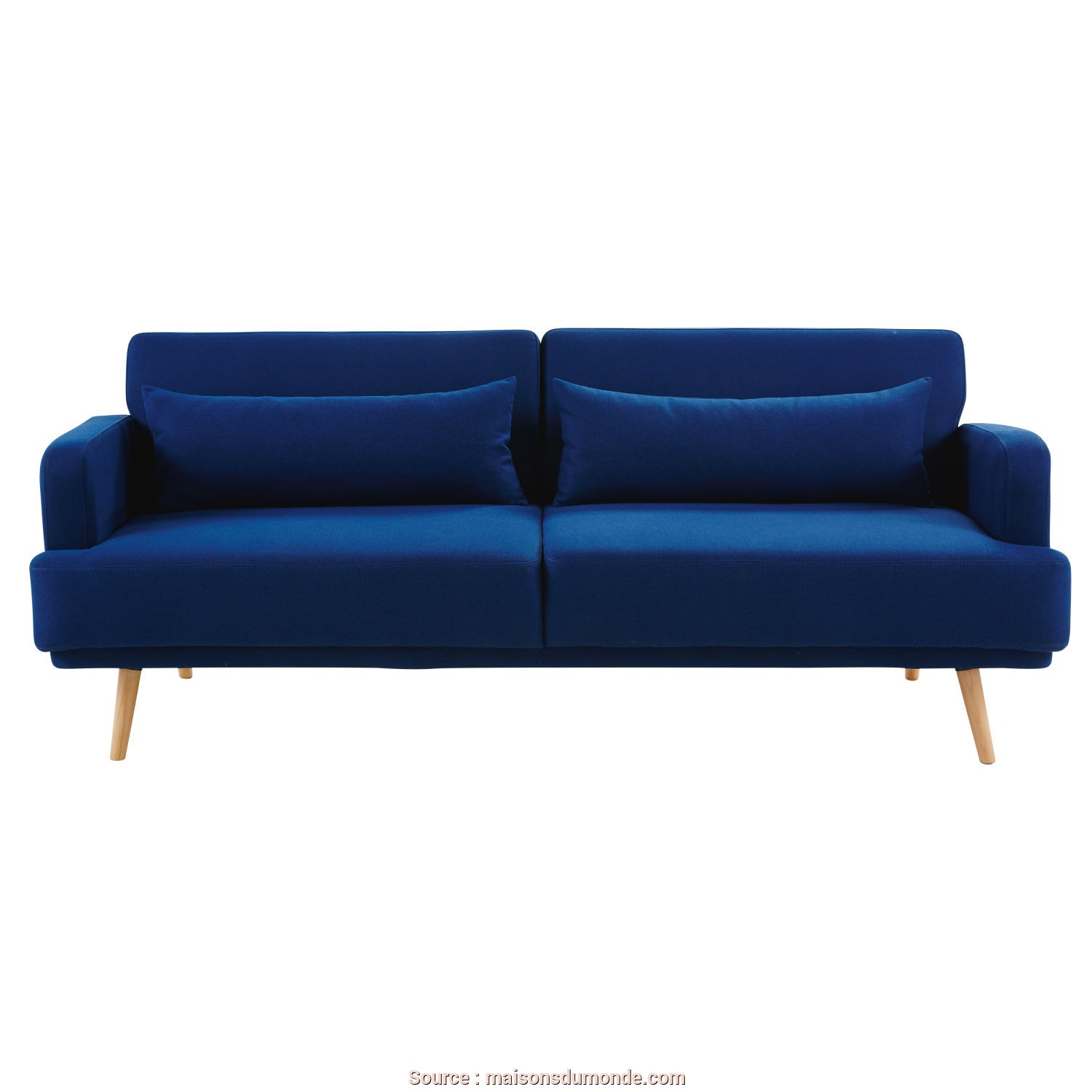 La Maison Du Monde Divano Letto, Superiore Royal Blue 3-Seater Sofa Bed, Maisons Du Monde