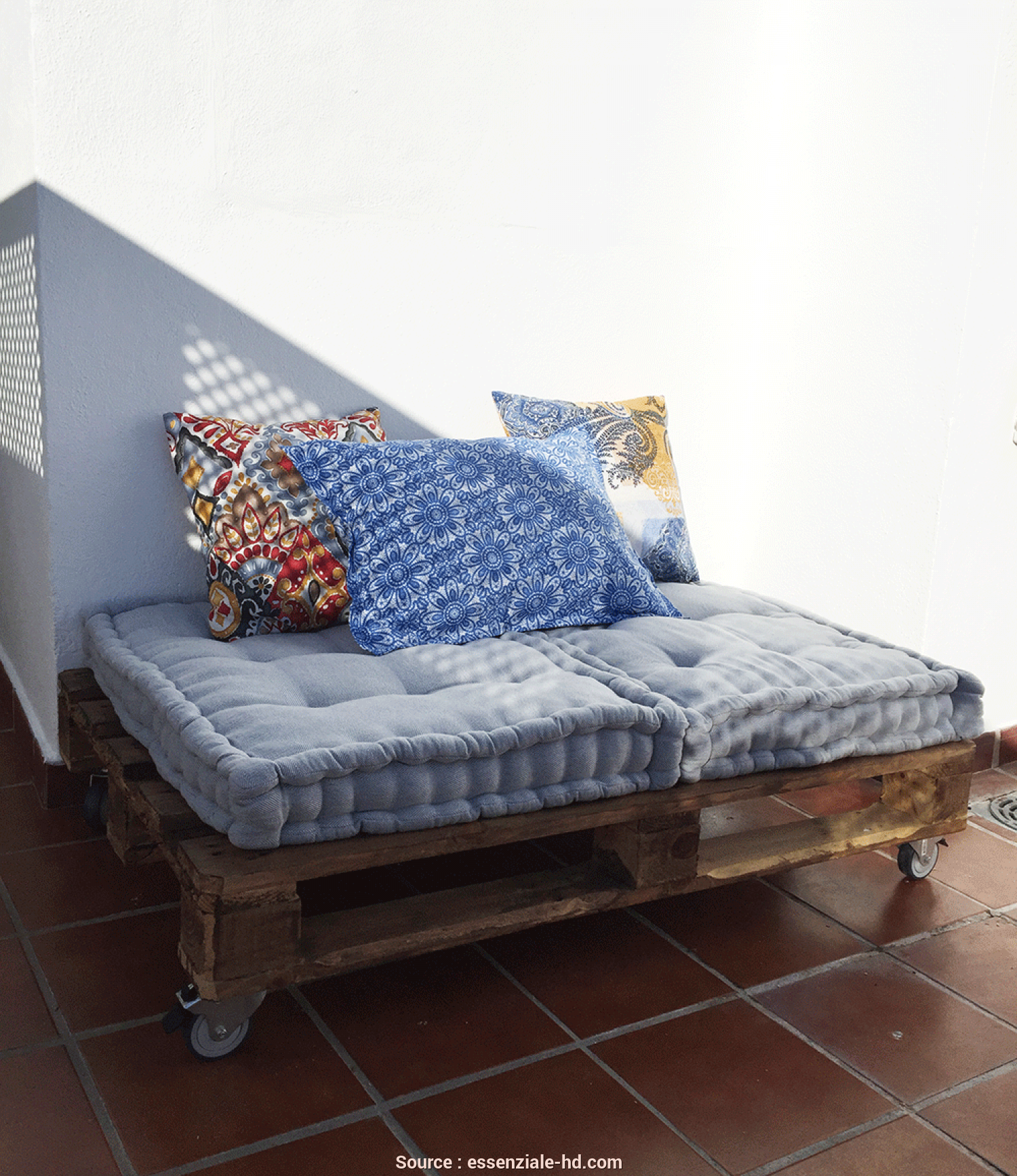 Leroy Merlin Bh Pallet, Bello DIY Project: Pallet Daybed, L