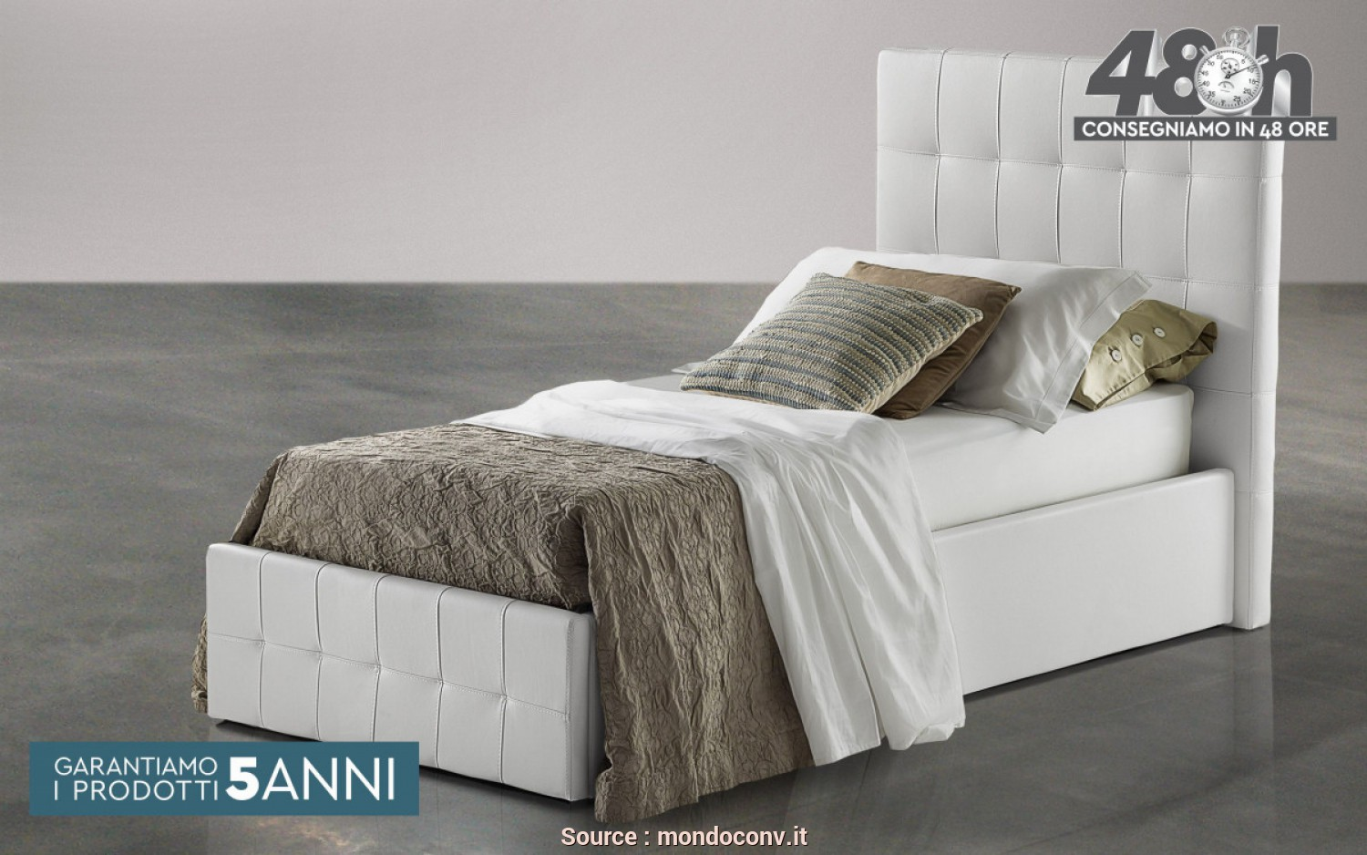 Ideale 5 Letto City 2 Singolo Mondo Convenienza