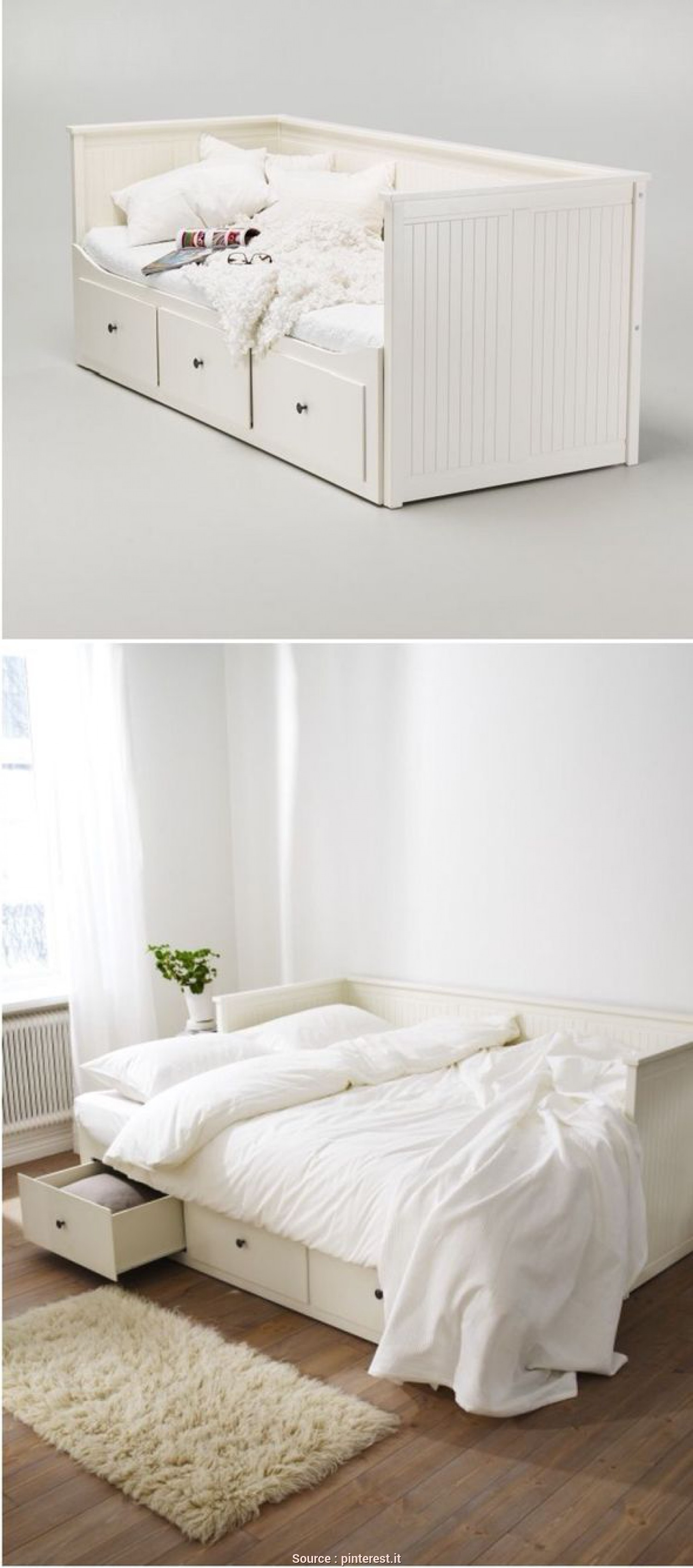 Letto Divano Ikea Hemnes, Divertente Another Office/Guest Room Solution IKEA Hemnes, Bed Camera, Divano Letto, Divano