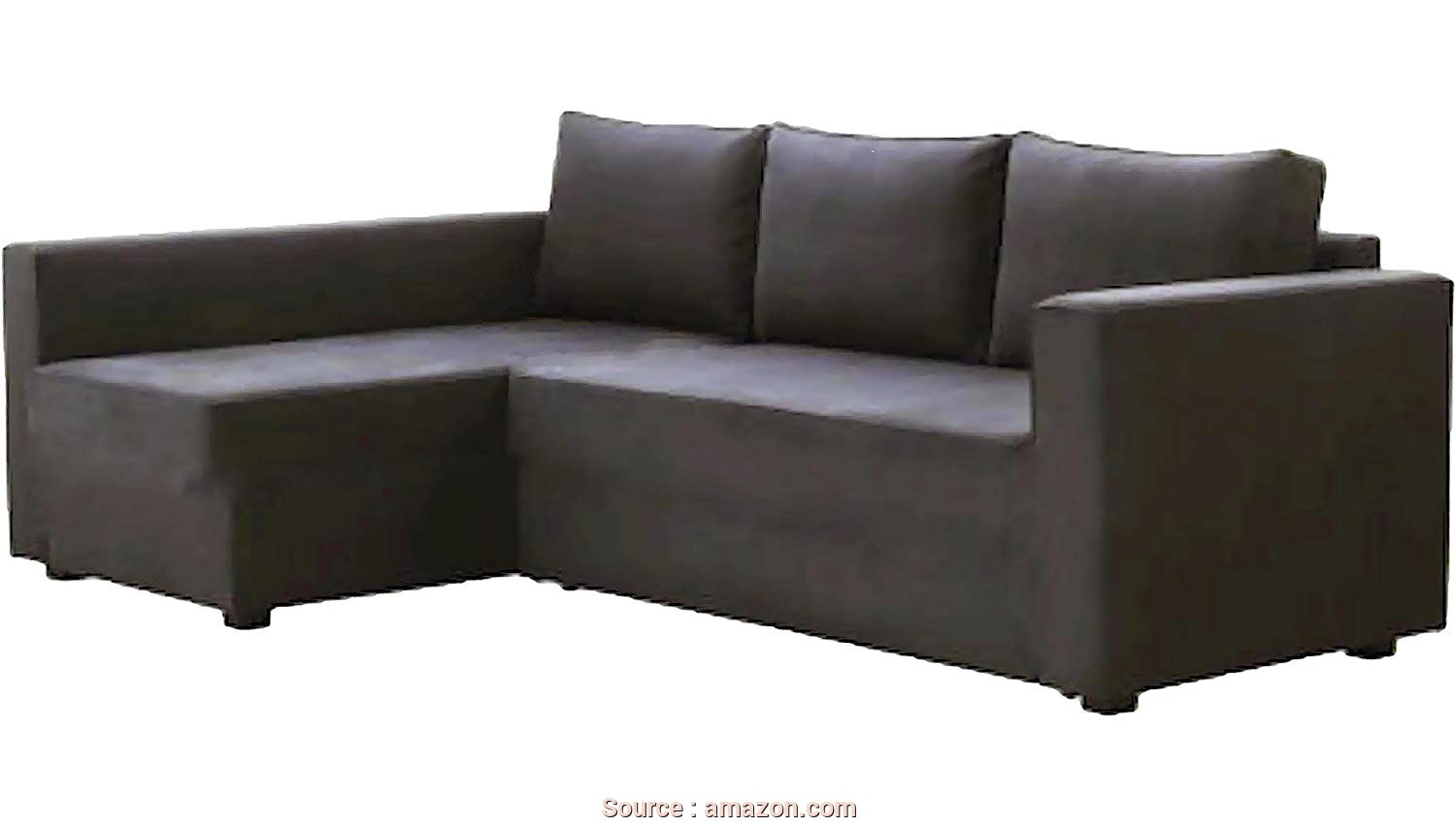 Letto Futon Ikea, A Buon Mercato HomeTown Market, Dark Gray Manstad Cover Replacement Is Custom Made, IKEA Manstad Sofa Bed, Or Sectional, Or Corner Slipcover. Sofa Cover Only!.
