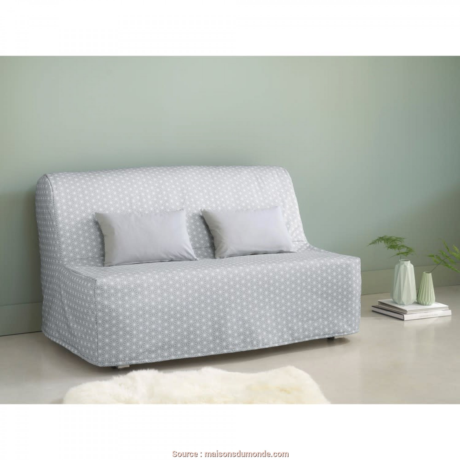 Maison Du Monde Divano Elliot, Deale 2 Seater Z-Bed Sofa Elliot