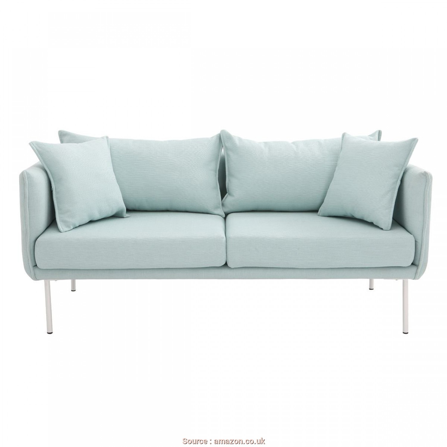 Miliboo Divani, Divertente Miliboo, Divani Design MATHIS Couch, Tres Plazas Green: Amazon.Co.Uk: Kitchen & Home