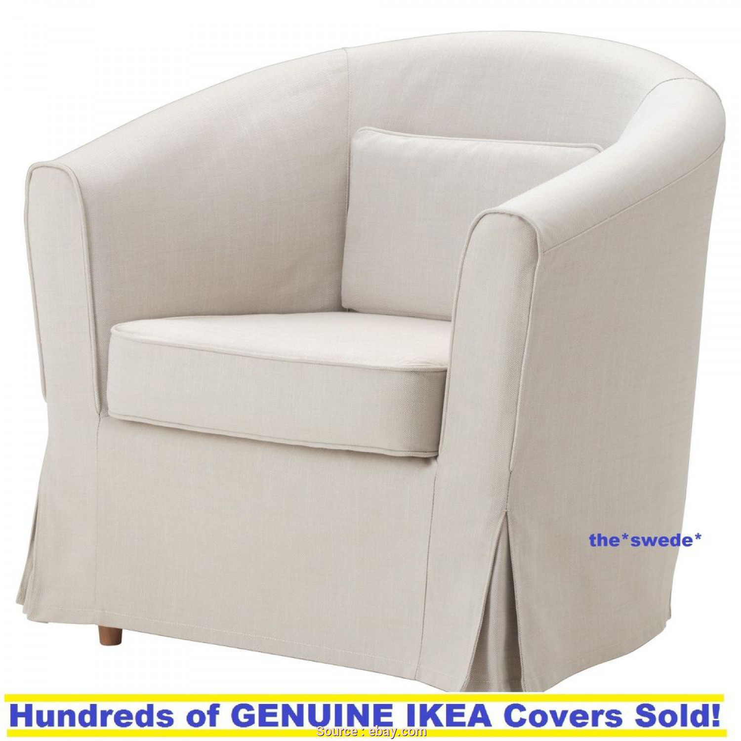 Poltrona Ikea Tullsta, Divertente Details About Ikea EKTORP TULLSTA Chair Armchair Cover Slipcover Nordvalla Beige New! Sealed!
