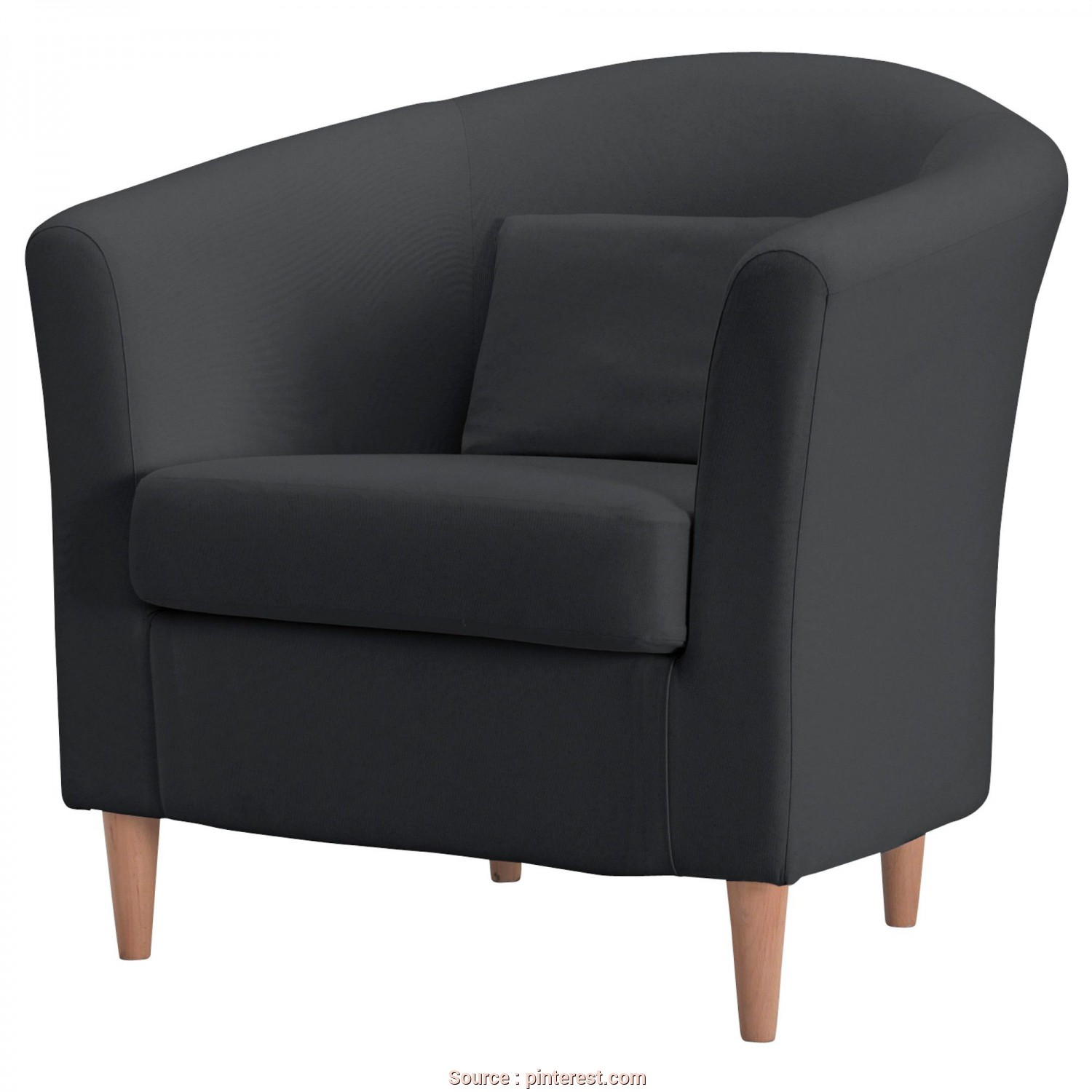 Poltrona Ikea Tullsta, Casuale TULLSTA Chair, Ransta Dark Gray, IKEA $99- Another Option, Probably Easier, Little, To, It,, Naturally, My Ikea Doesn