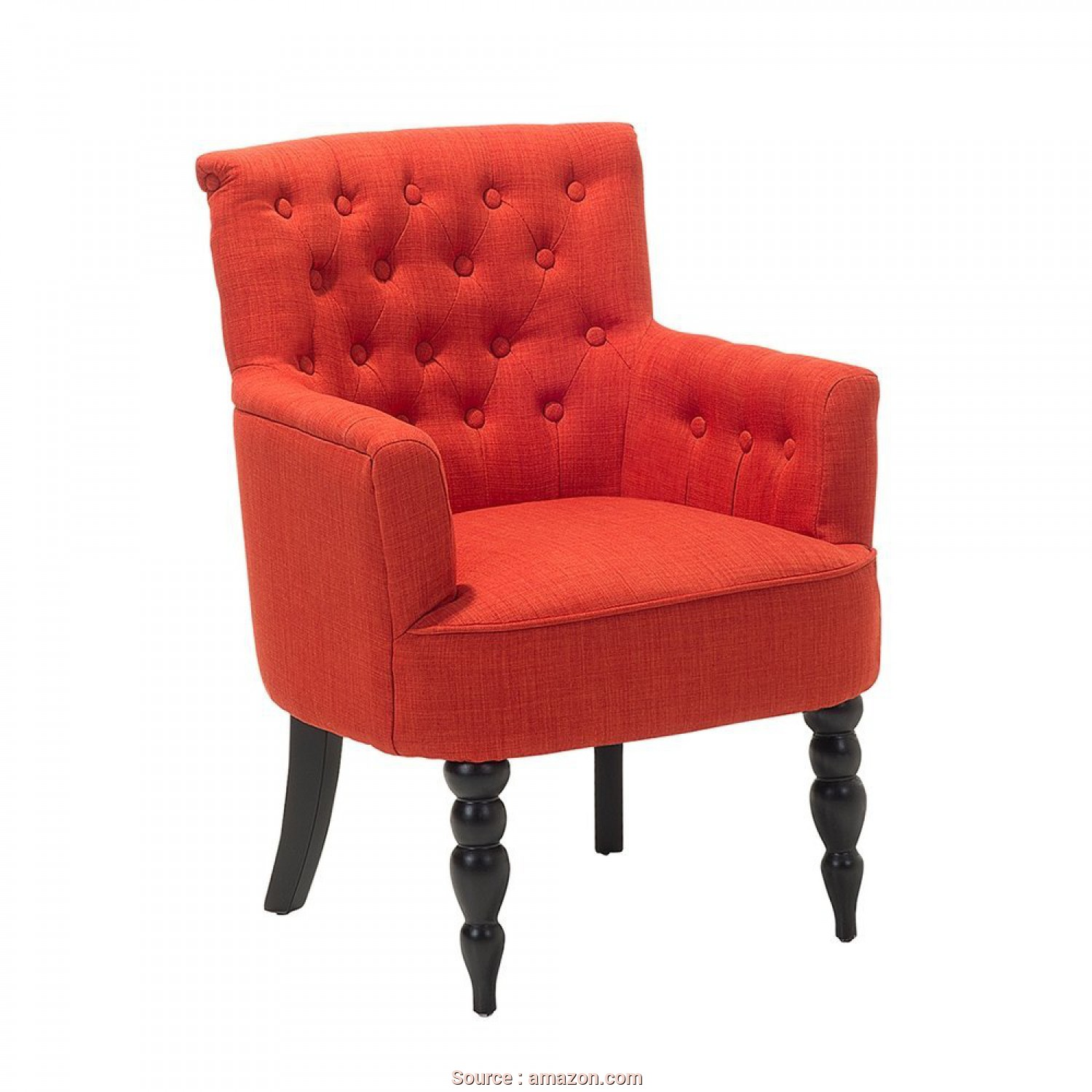 Poltrone Vintage Amazon, Rustico Amazon.Com: Beliani Classic Button Tufted Upholstered Armchair Red: Kitchen & Dining