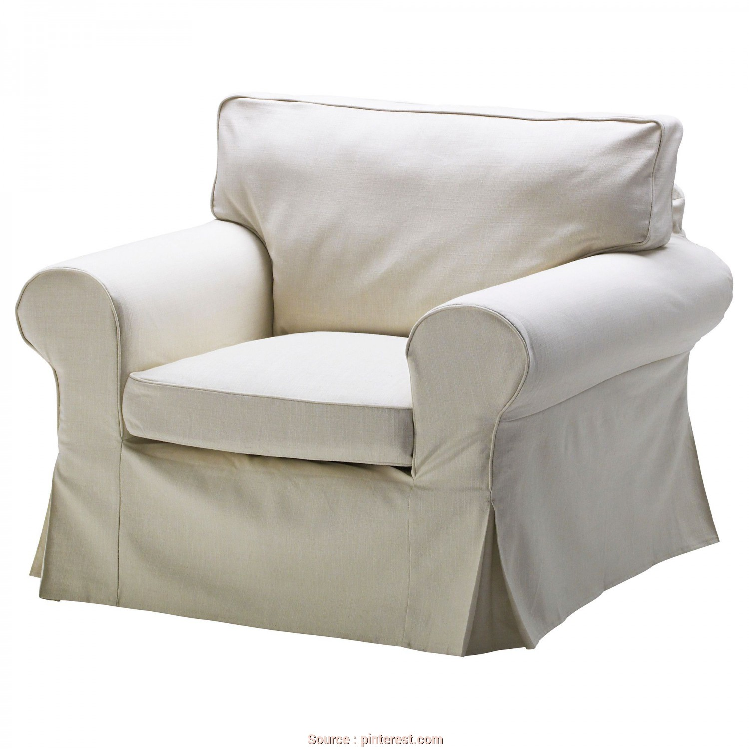 Pouf Letto Ikea Ektorp, Loveable EKTORP Chair Cover, IKEA,, The Home, Pinterest, Armchair